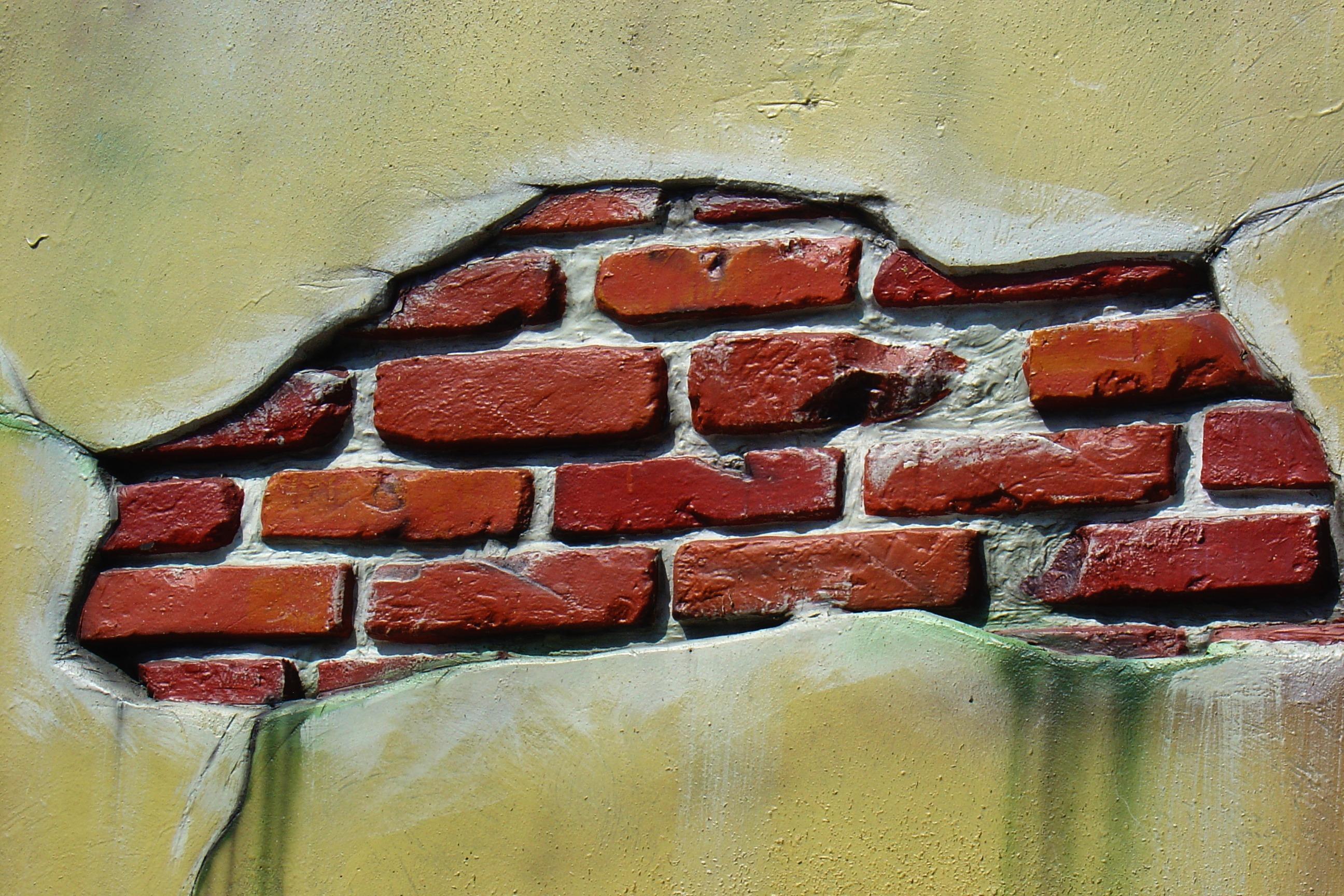 Lukisan Dinding Batu Bata Sabalukisan