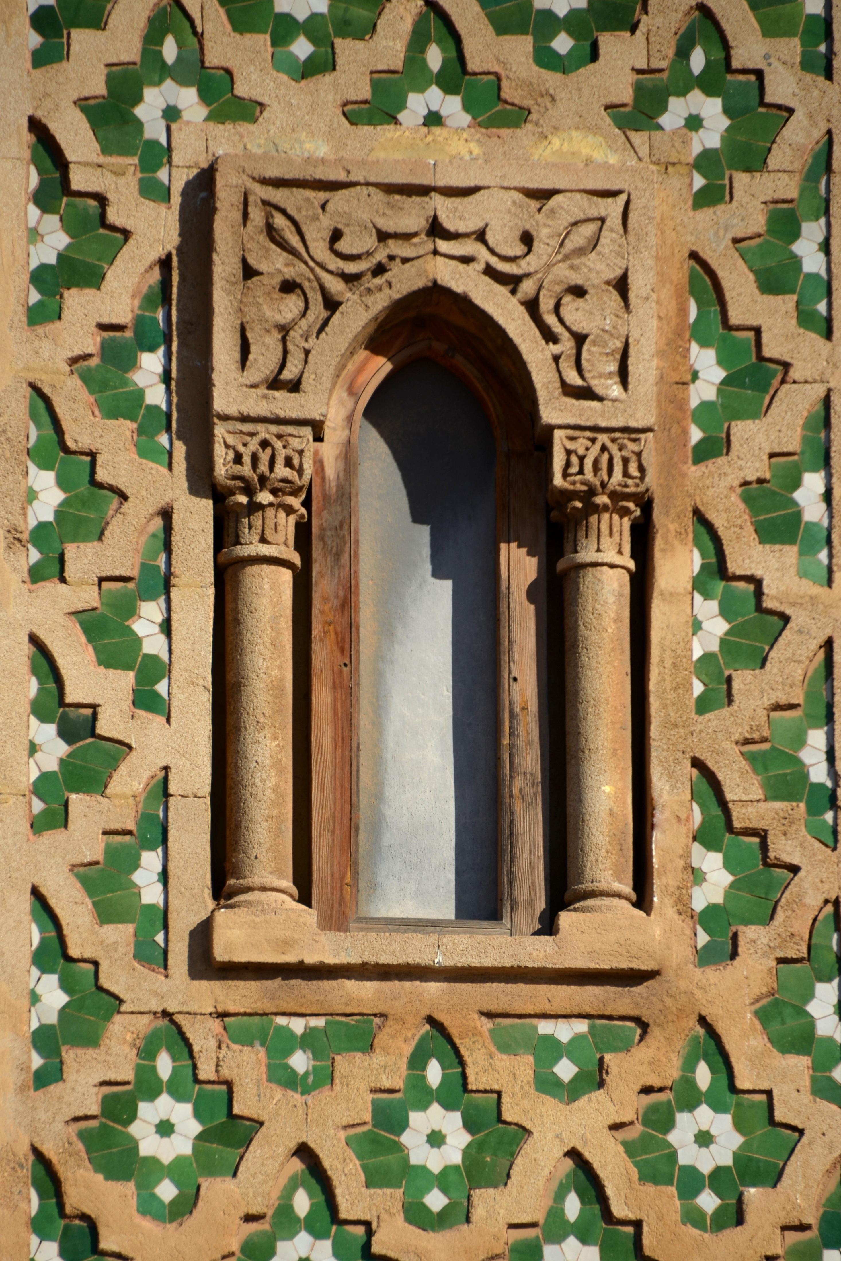 Kostenlose foto : Fenster, Nummer, Gebäude, Bogen, Muster, Grün ...
