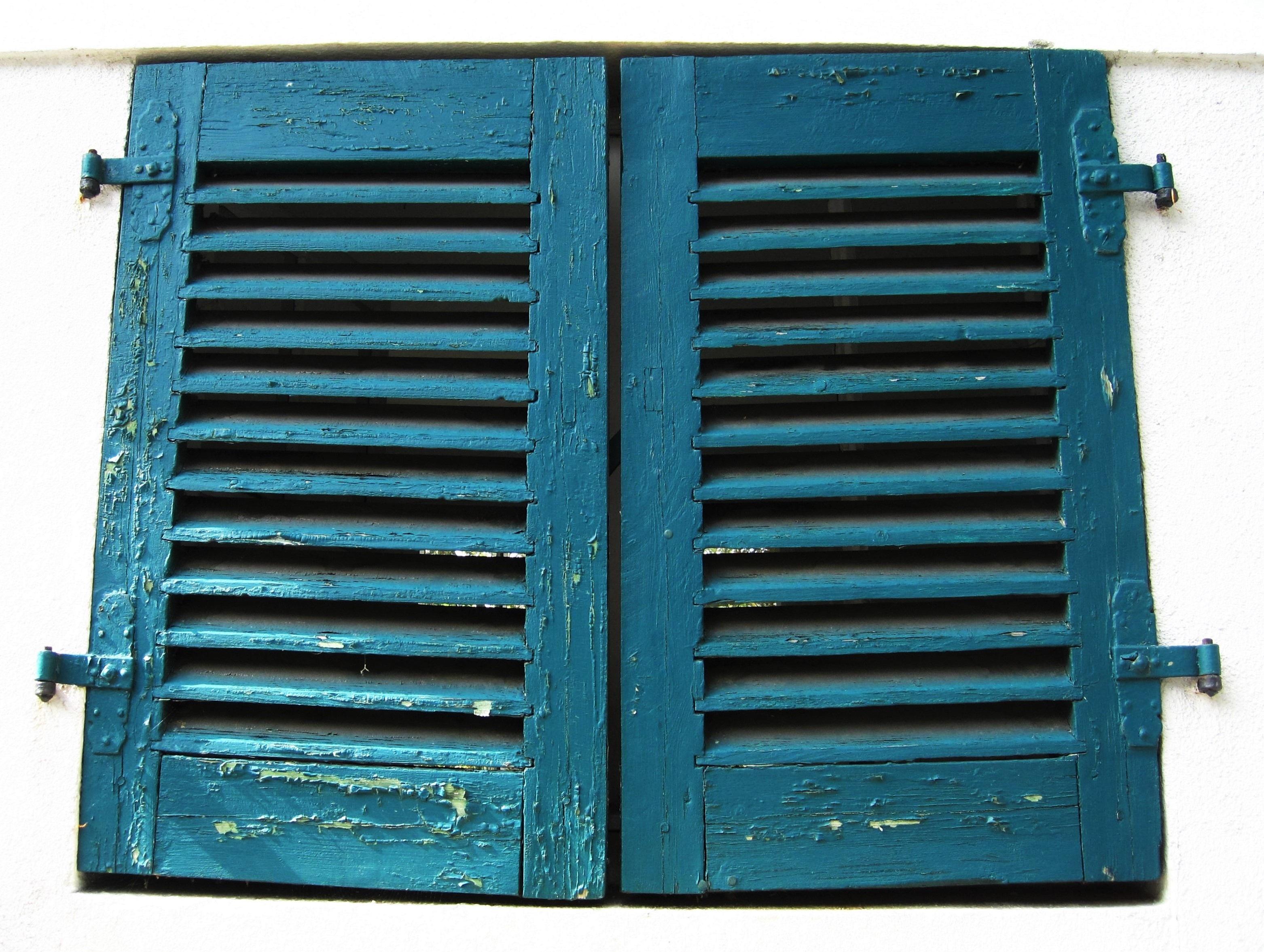 Images Gratuites Fenêtre Vieux Rustique Cadre Bleu Produit