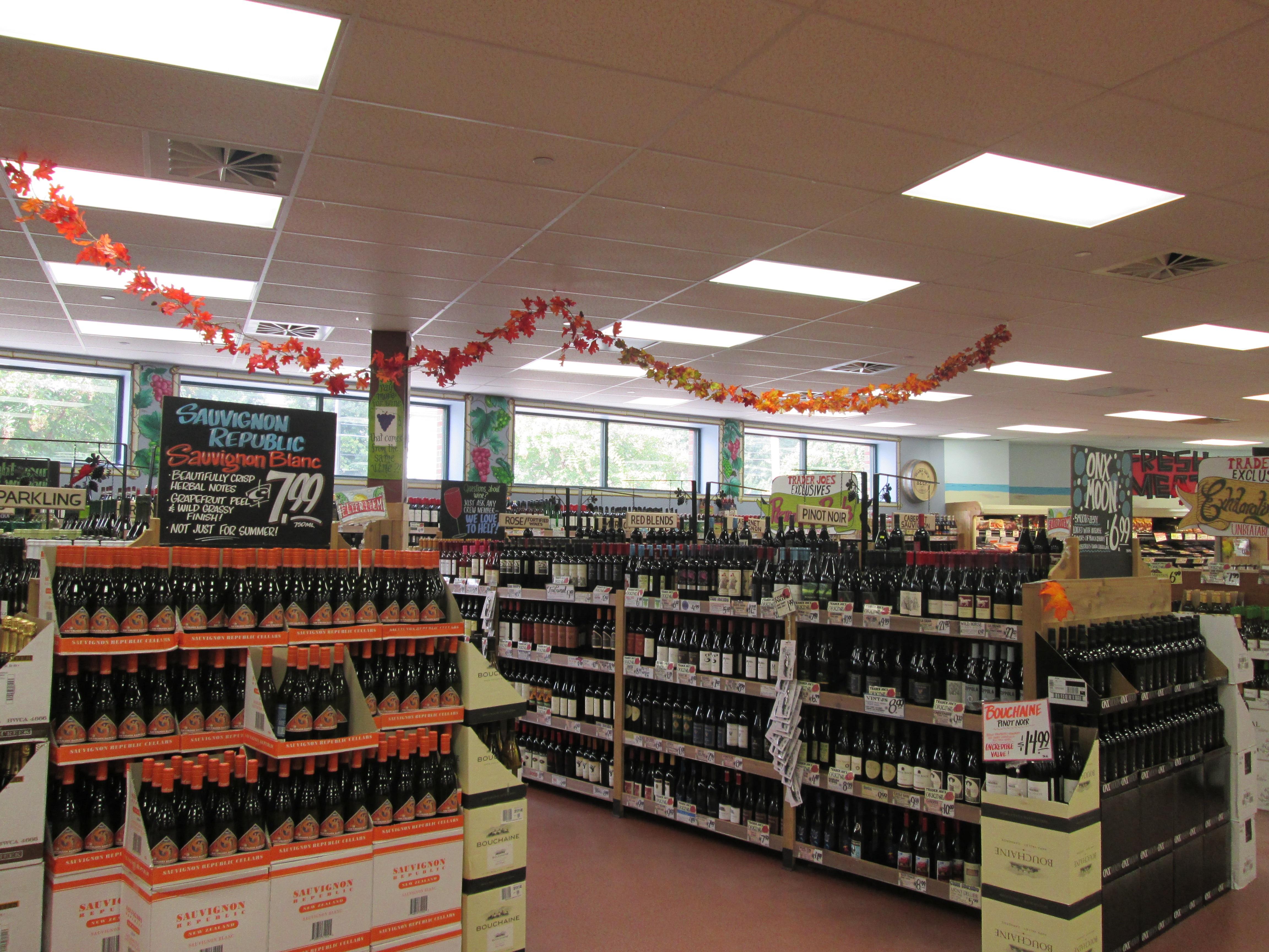 Wine Building Store Drink Market Bottle Business Shopping Alcohol Liquor Aisle Supermarket Sale Grocery Atlanta Public Domain