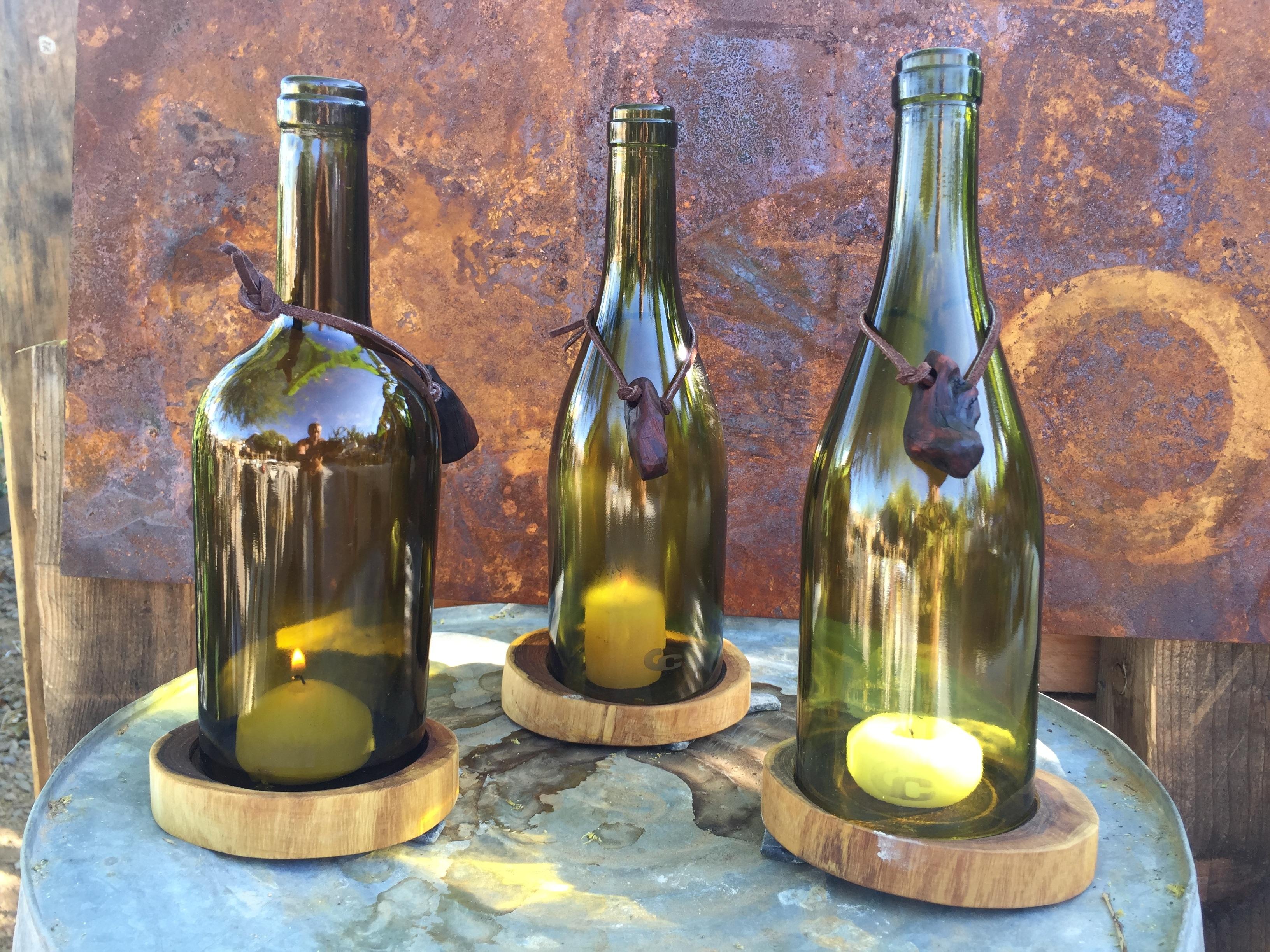 Fotoğraf Bardak Içki Mum Dekor Natürmort Boyama şarap şişesi