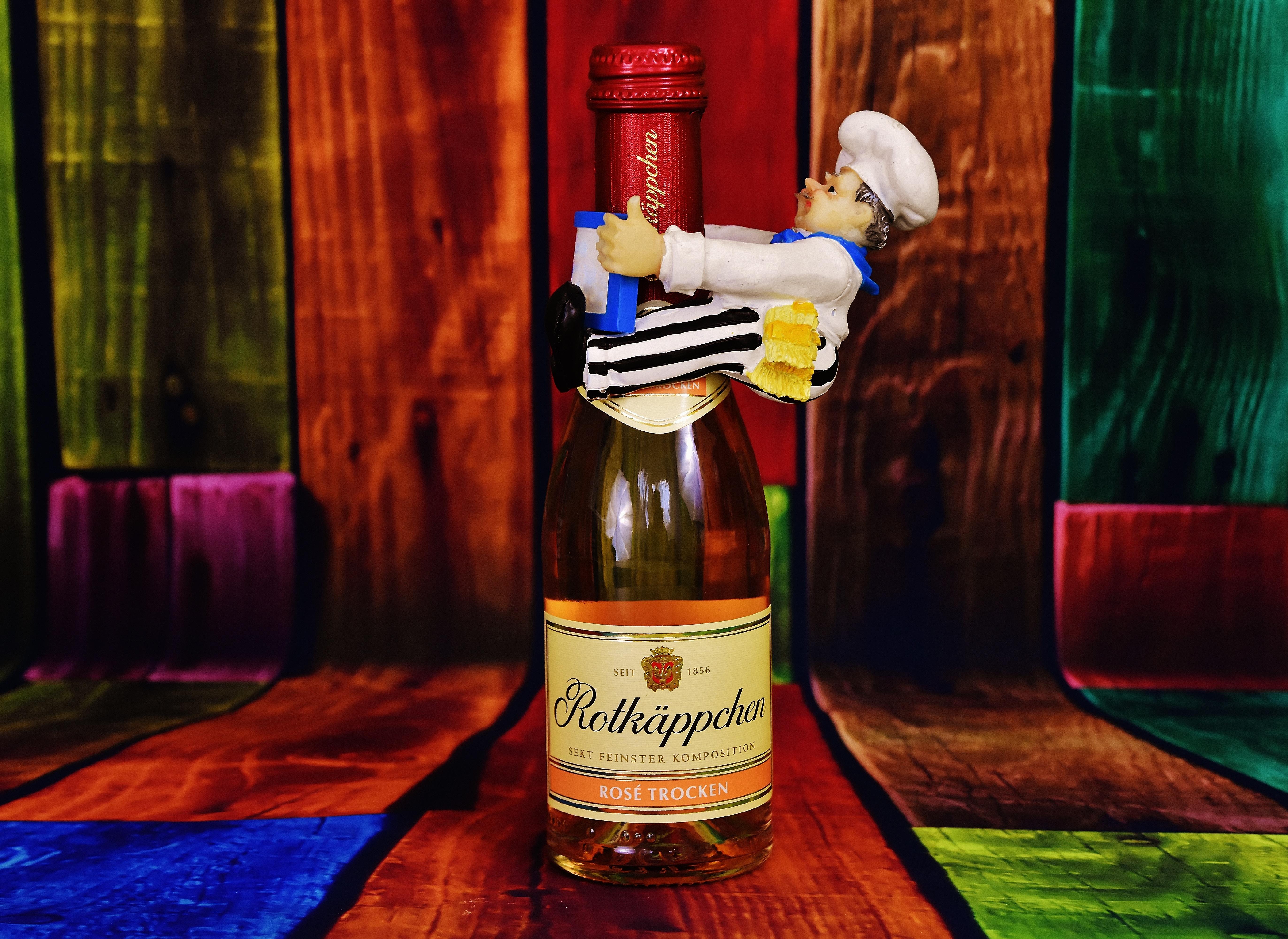 Подарок из бутылок водки 521