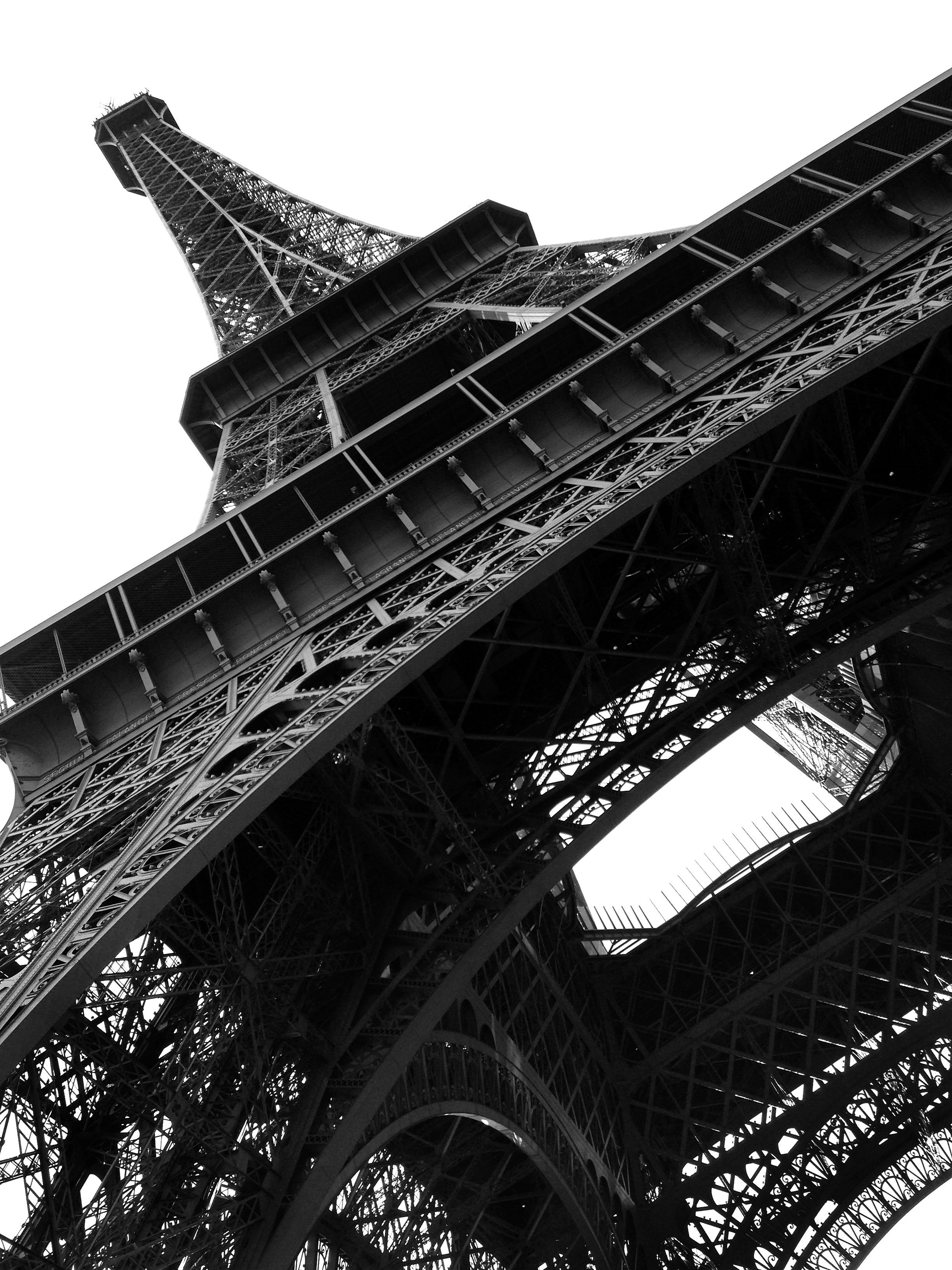 Images gratuites aile noir et blanc paris france - Images tour eiffel gratuites ...