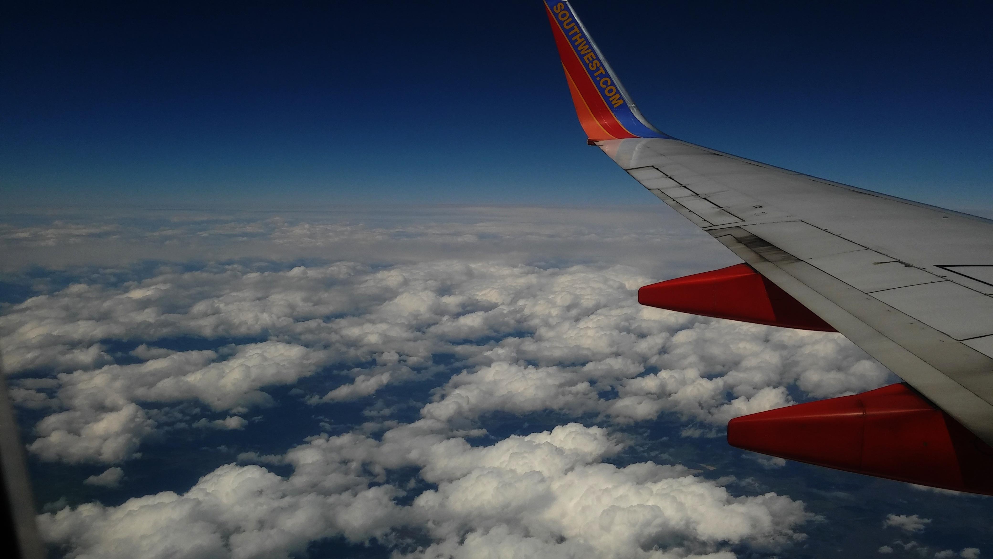 Fotos gratis : ala, nube, cielo, aire, mosca, vacaciones