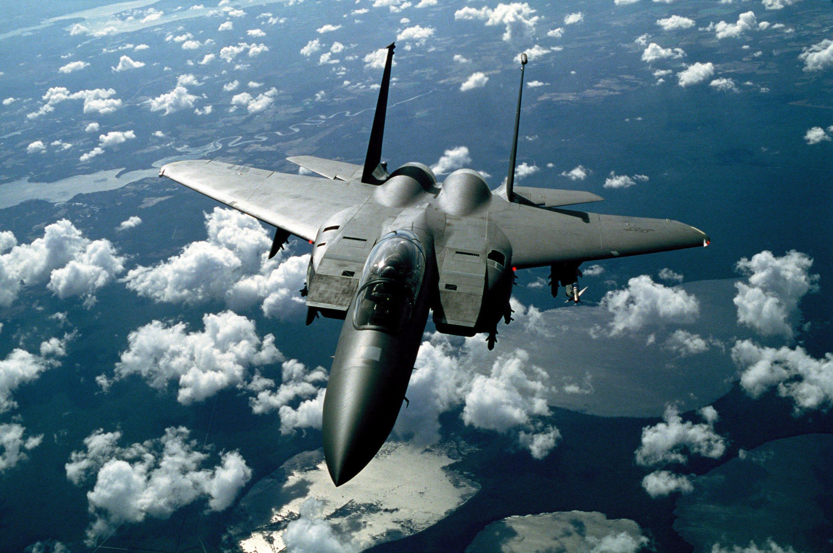 Обои Mcdonnell, jet, Douglas, fighter, fa. Авиация foto 17
