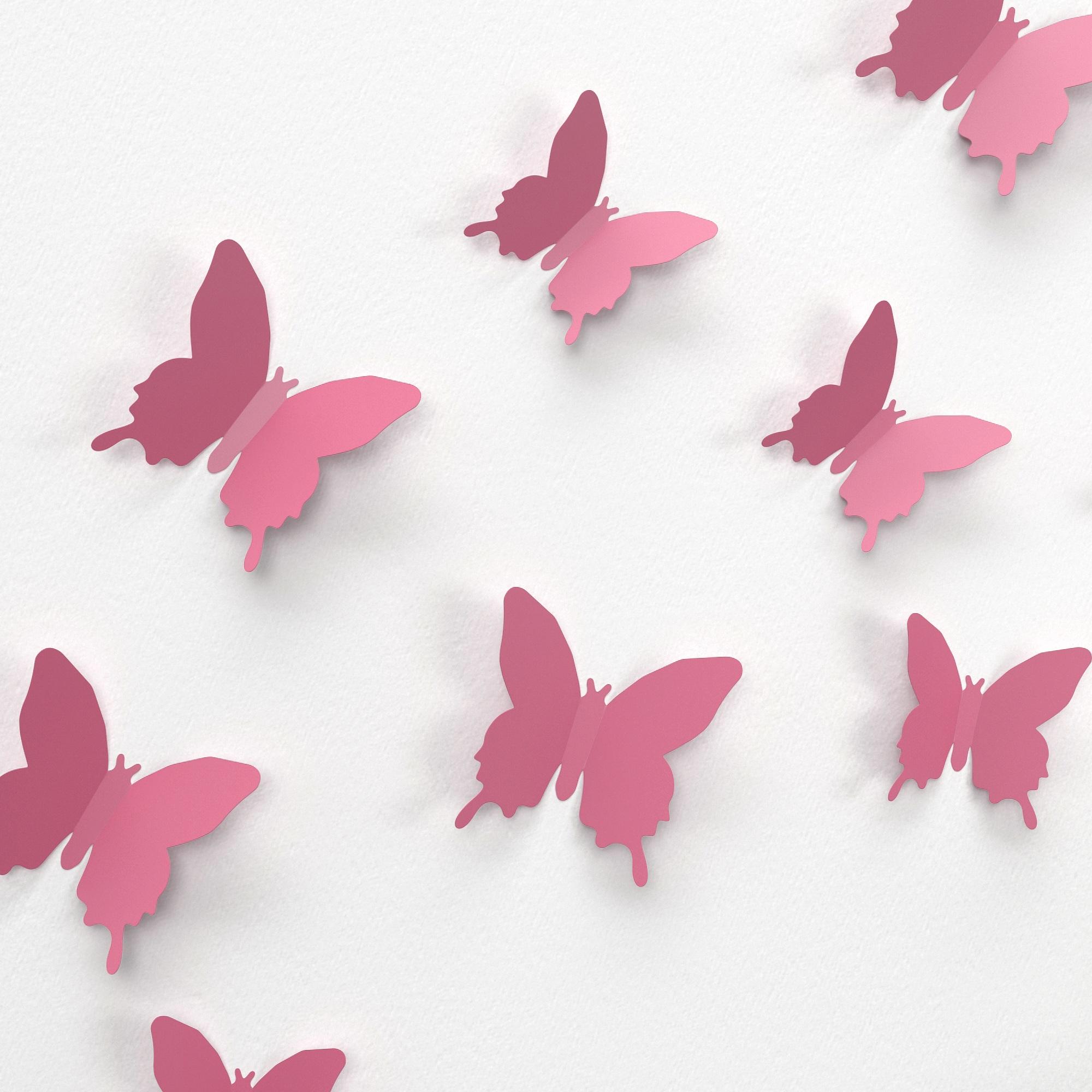 Бабочки для декора своими руками : из бумаги, объемные, трафареты 80