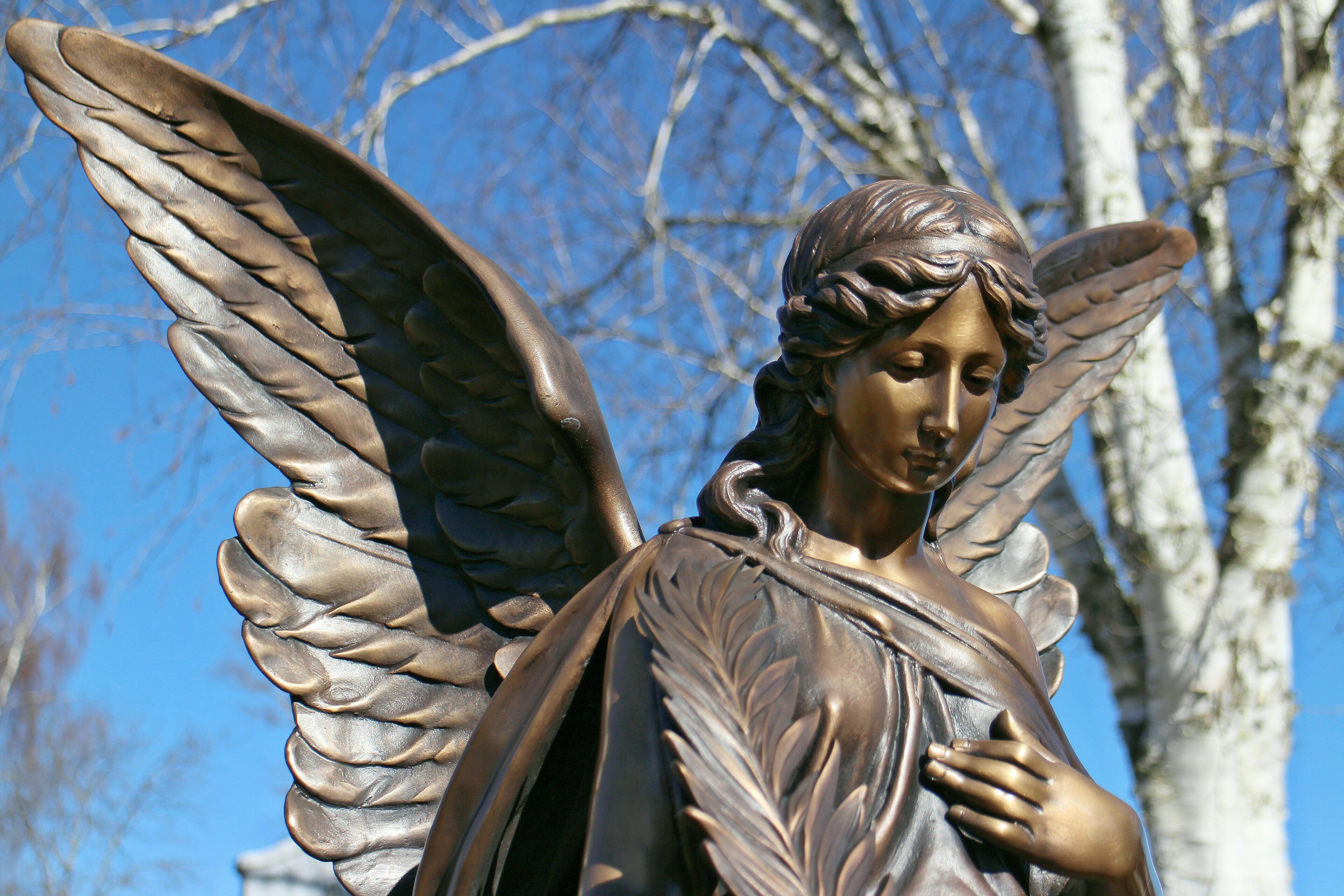 Картинки ангела статуи
