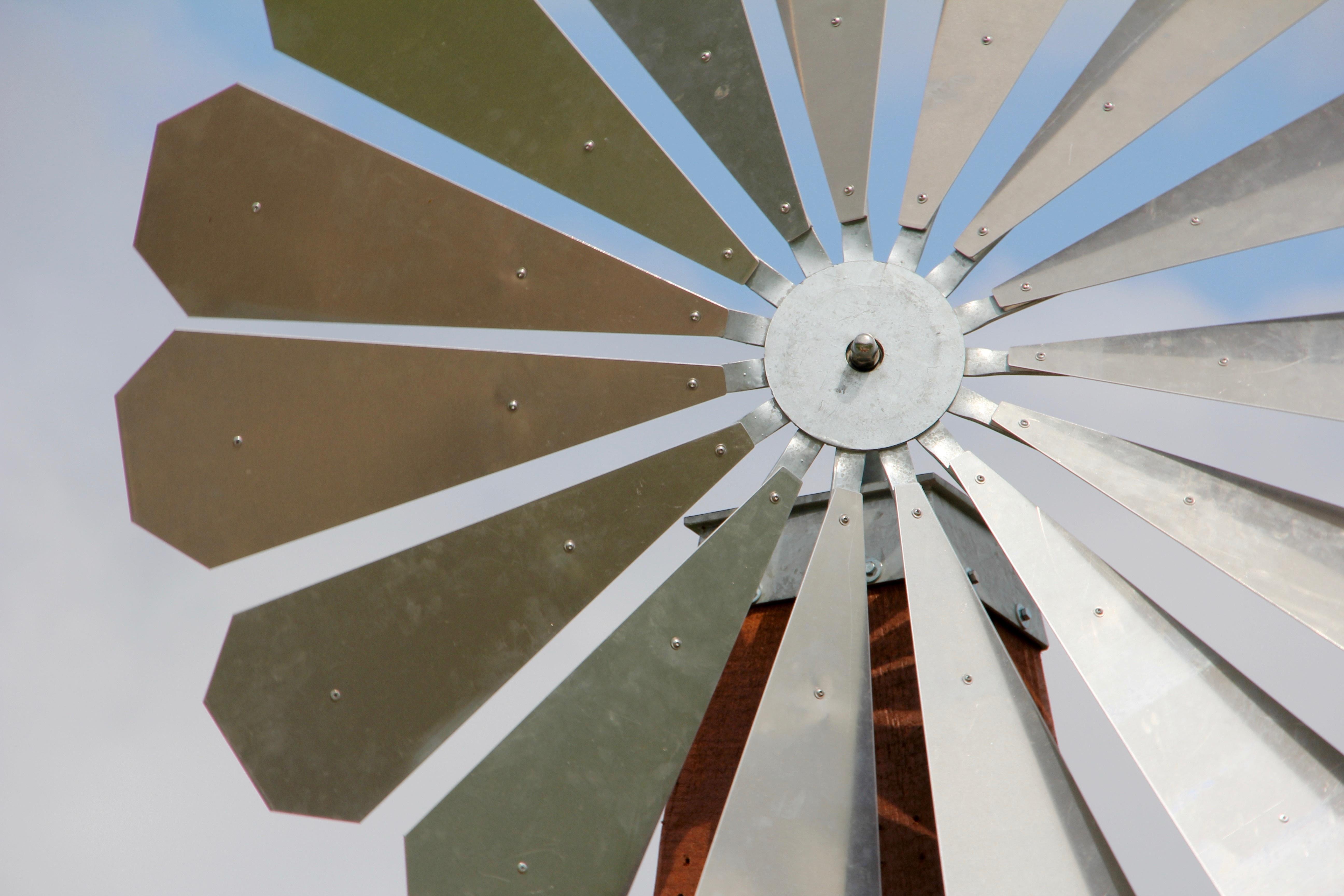 Immagini belle ala ruota vento soffitto ombrello metallo
