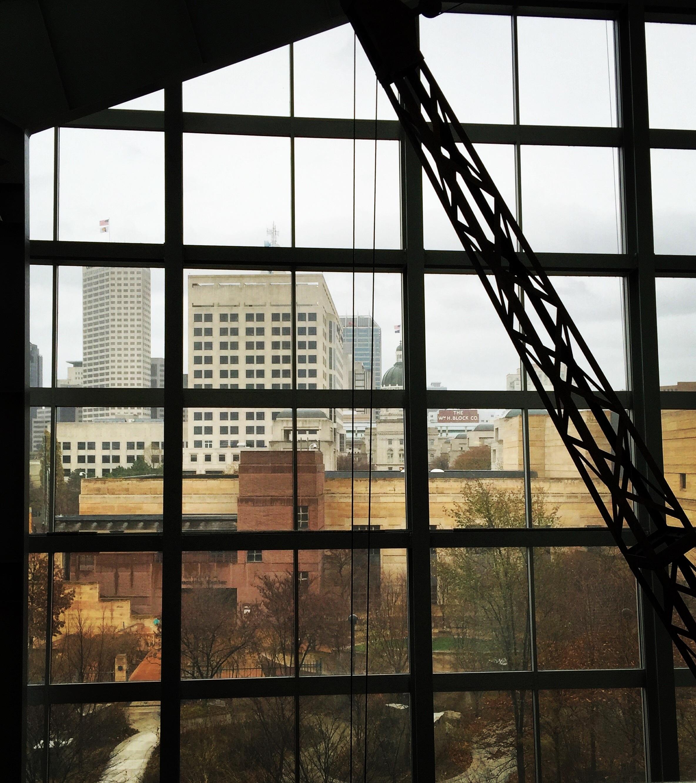 Winter Die Architektur Holz Fenster Glas Fassade Innenarchitektur Entwurf  Symmetrie Indianapolis Tageslicht Museumsfenster Fensterverkleidung