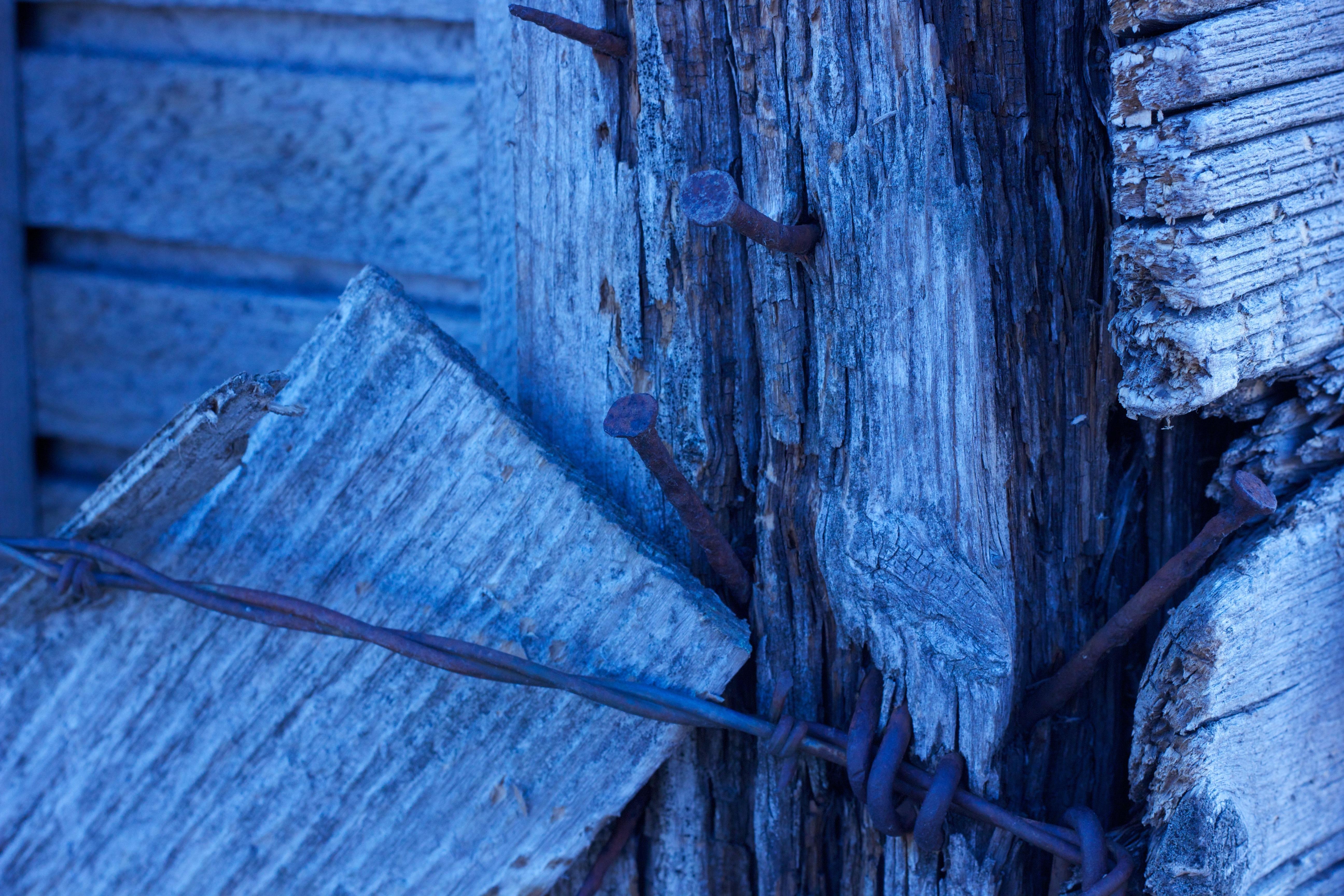 Kostenlose foto : Winter, Stacheldraht, Holz, Jahrgang, Landschaft ...