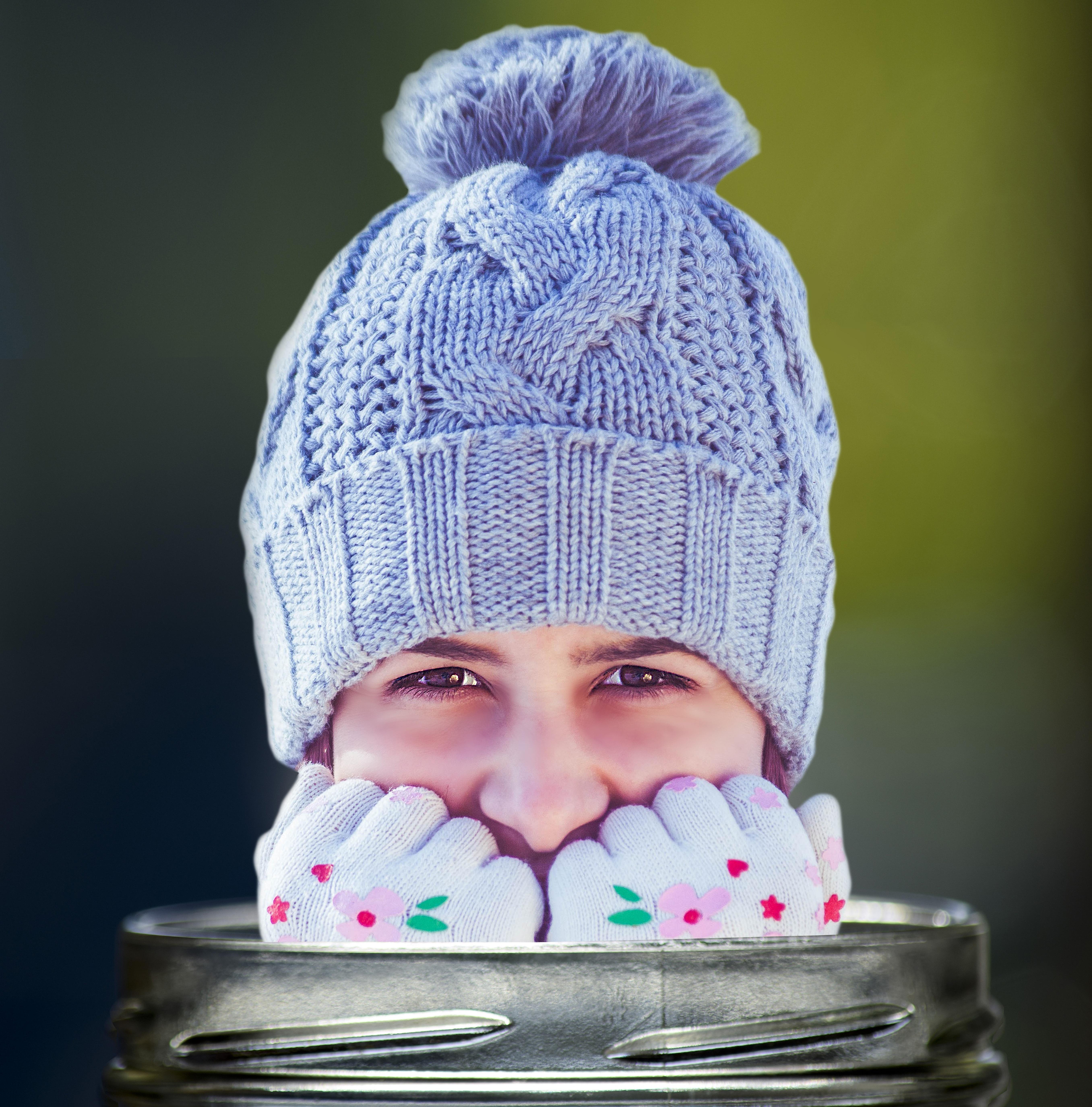 Fotos gratis : invierno, Bokeh, niña, patrón, retrato, niño ...