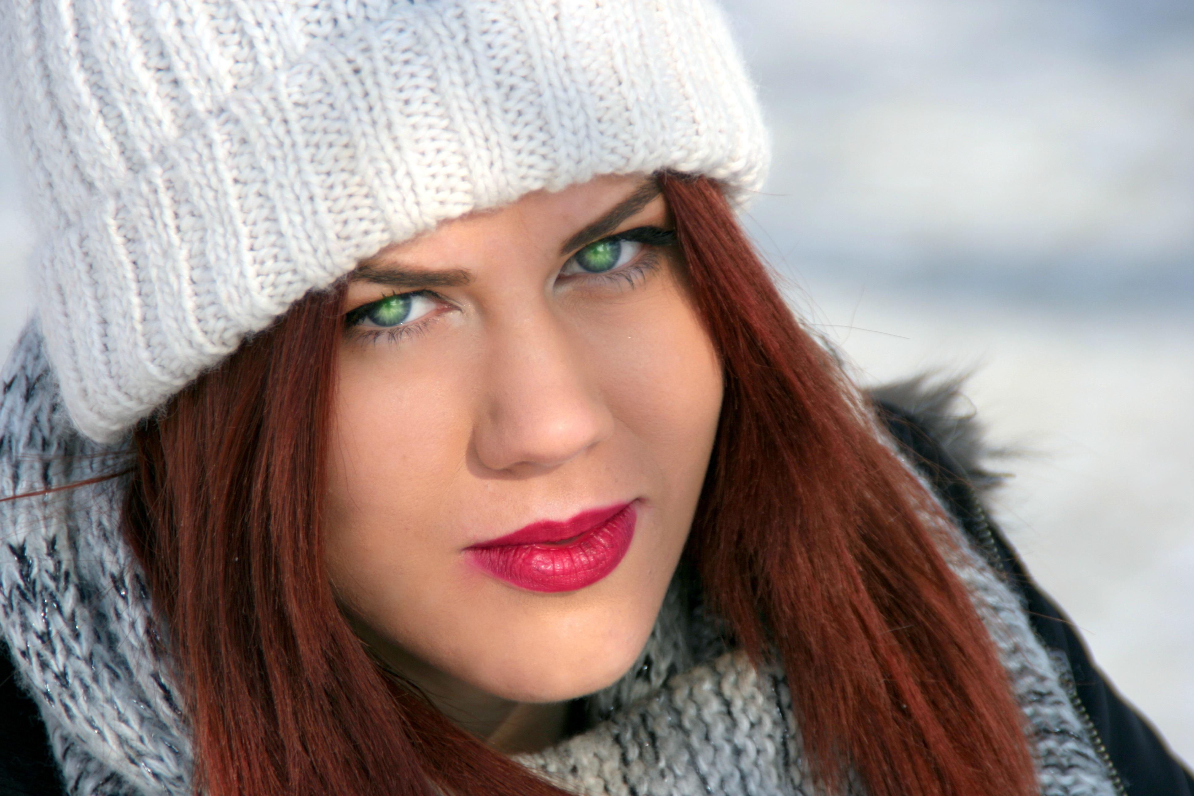 Augen braune grüne haare blau Augenfarbe