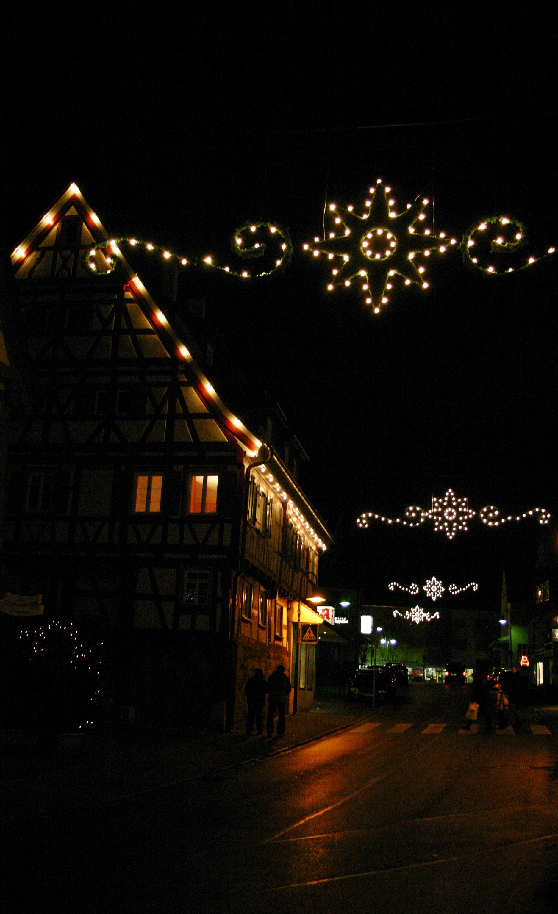 Christmas Light Star