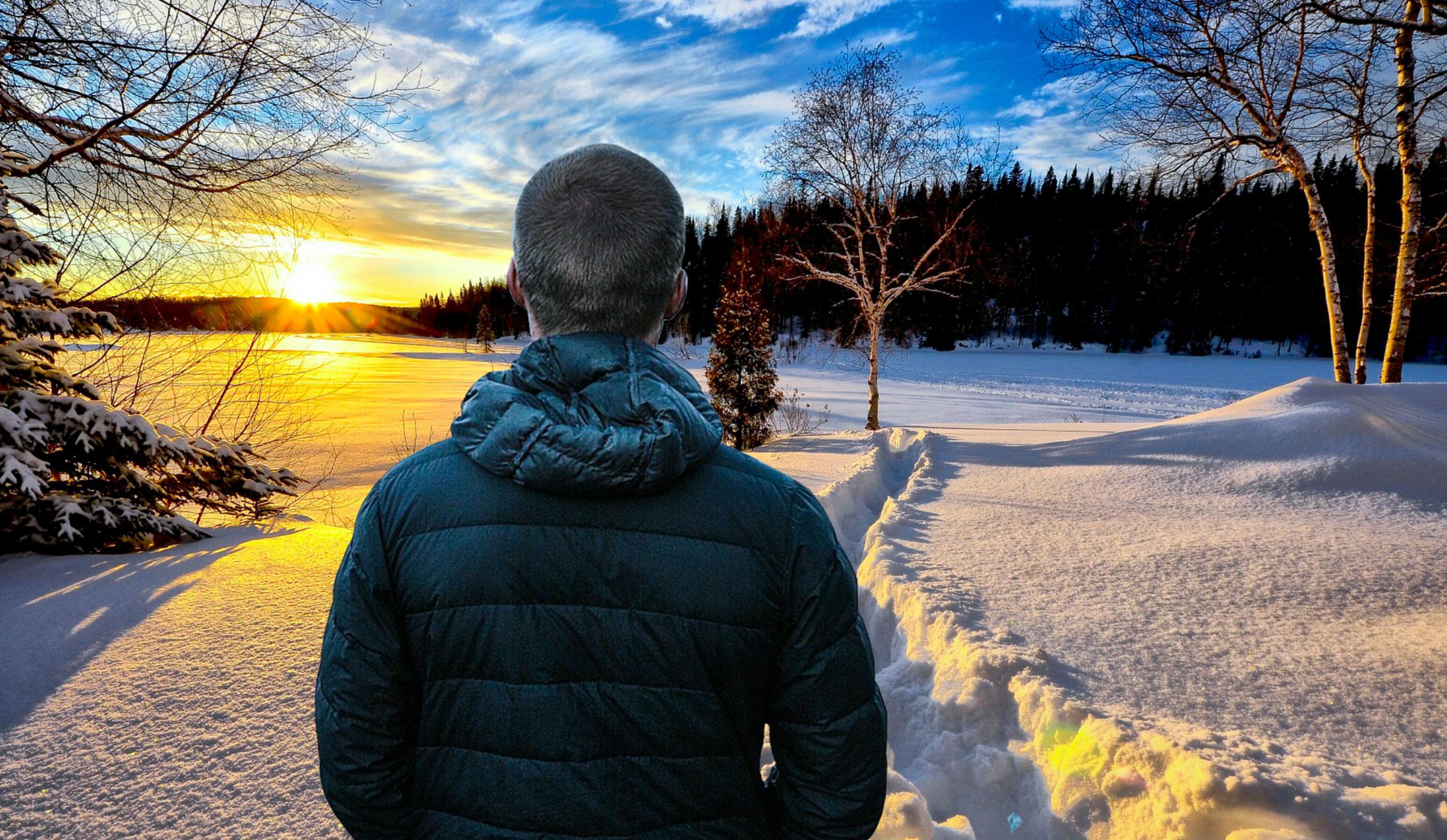 картинки человек в далеке зимой табачные