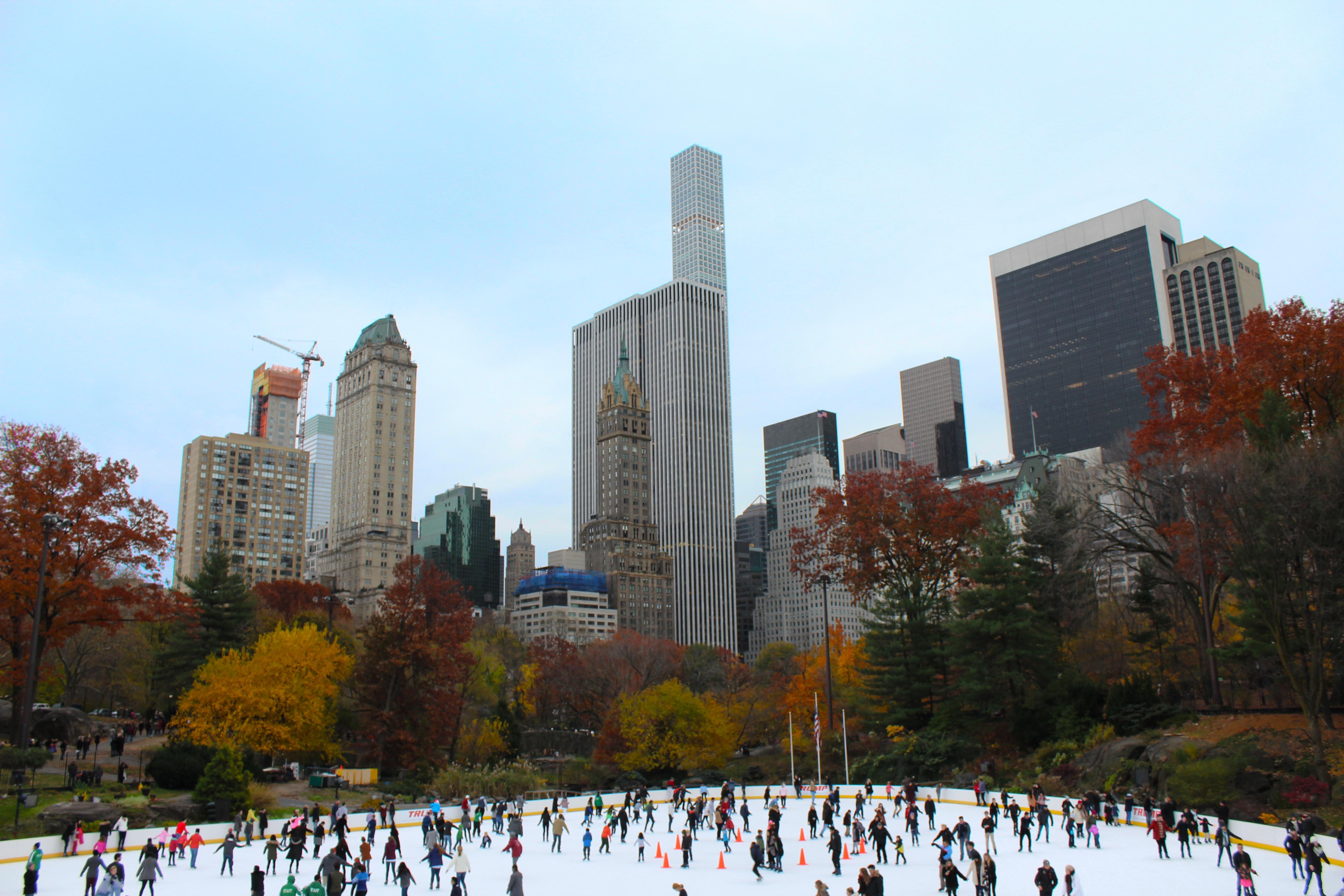 Images gratuites hiver horizon gratte ciel new york for Paysage de ville