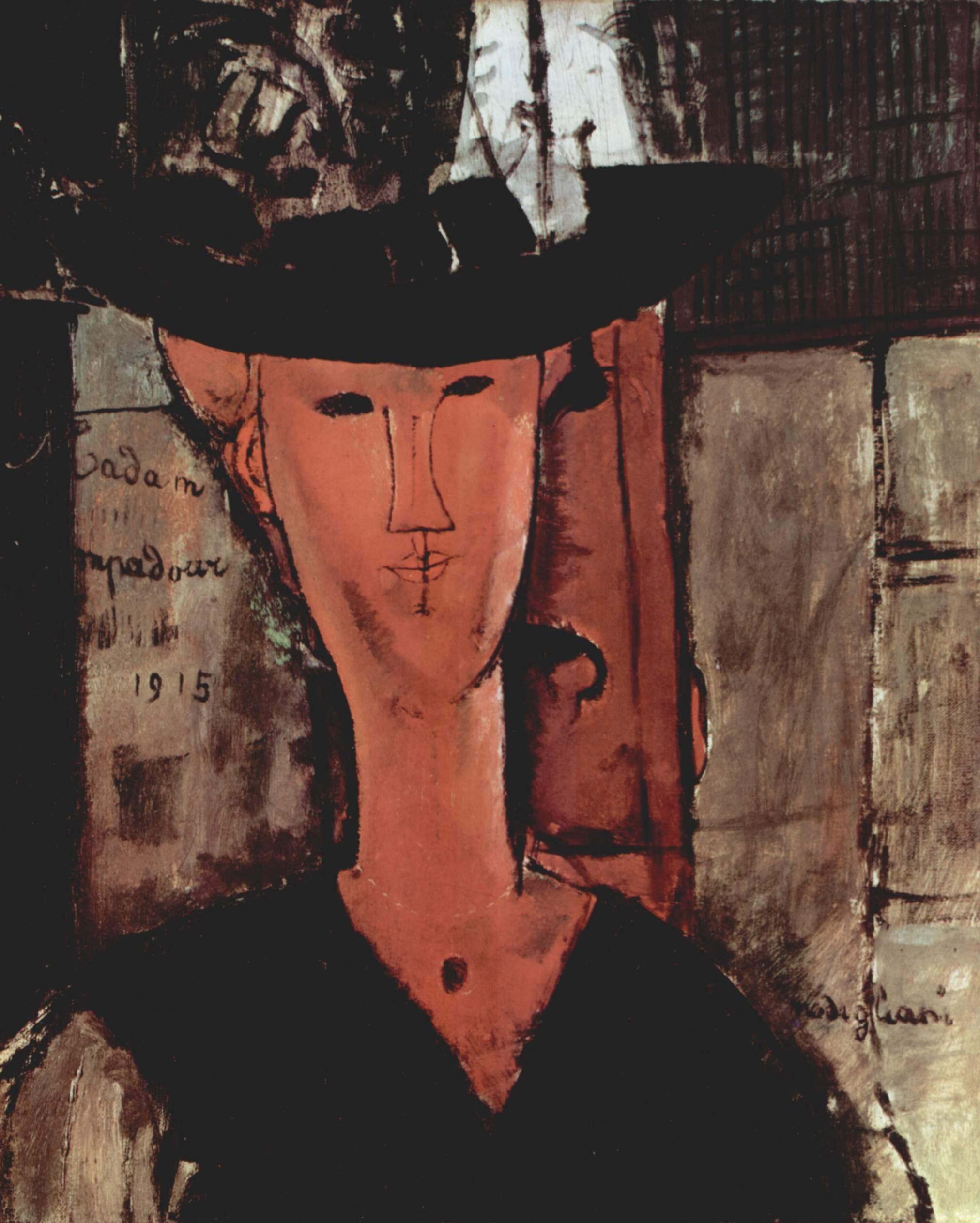 Gambar Wanita Potret Artistik Lukisan Sketsa Gambar