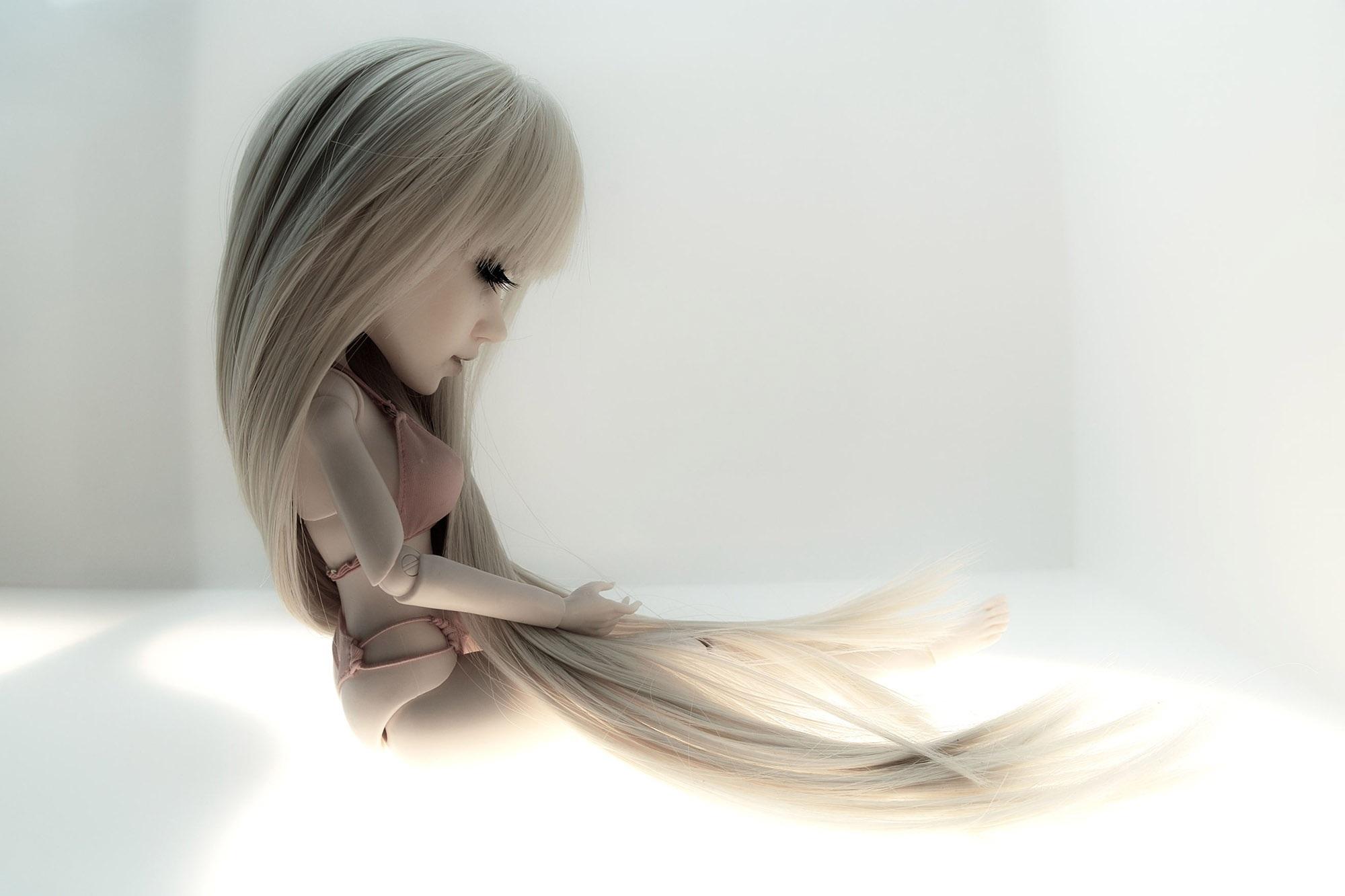 pelo largo erótico sexy