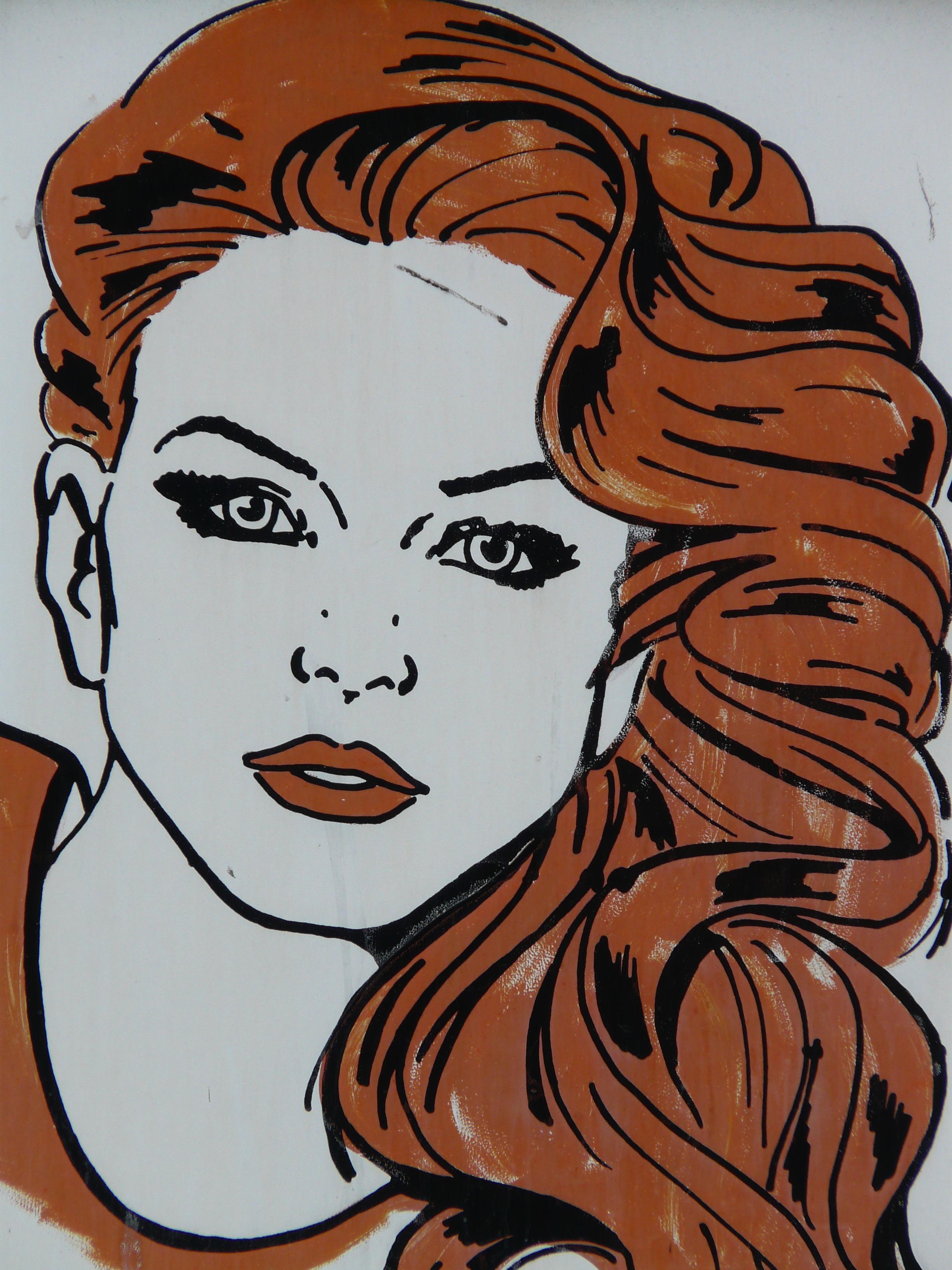 Gambar Wanita Rambut Hairstyle Mulut Menghadapi Hidung Mata