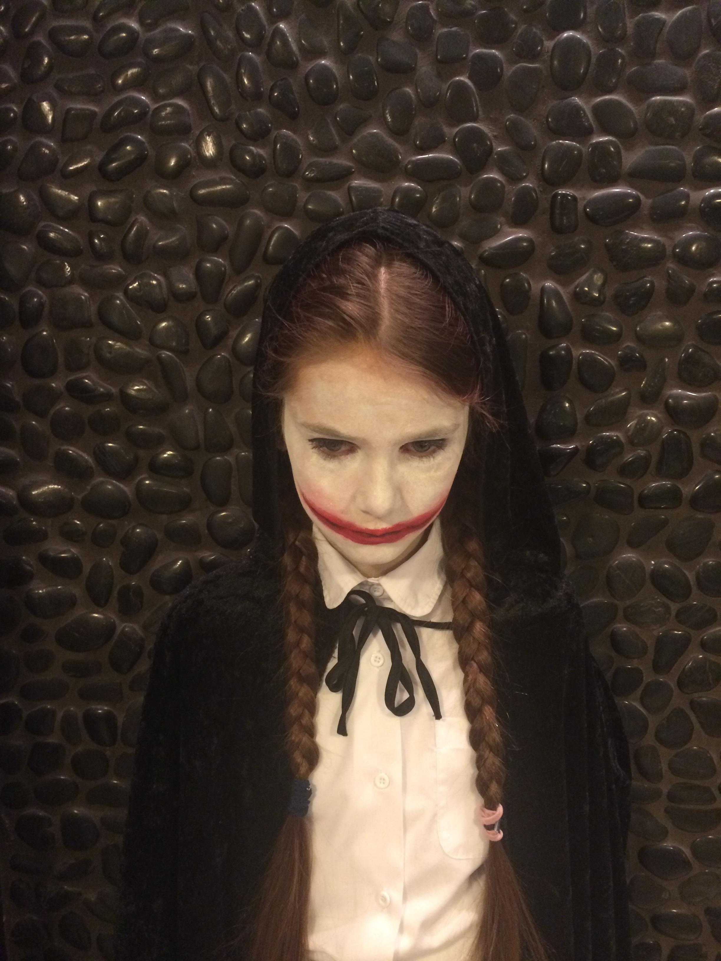 Poze Femeie Par Portret Halloween Copil Negru Doamnă