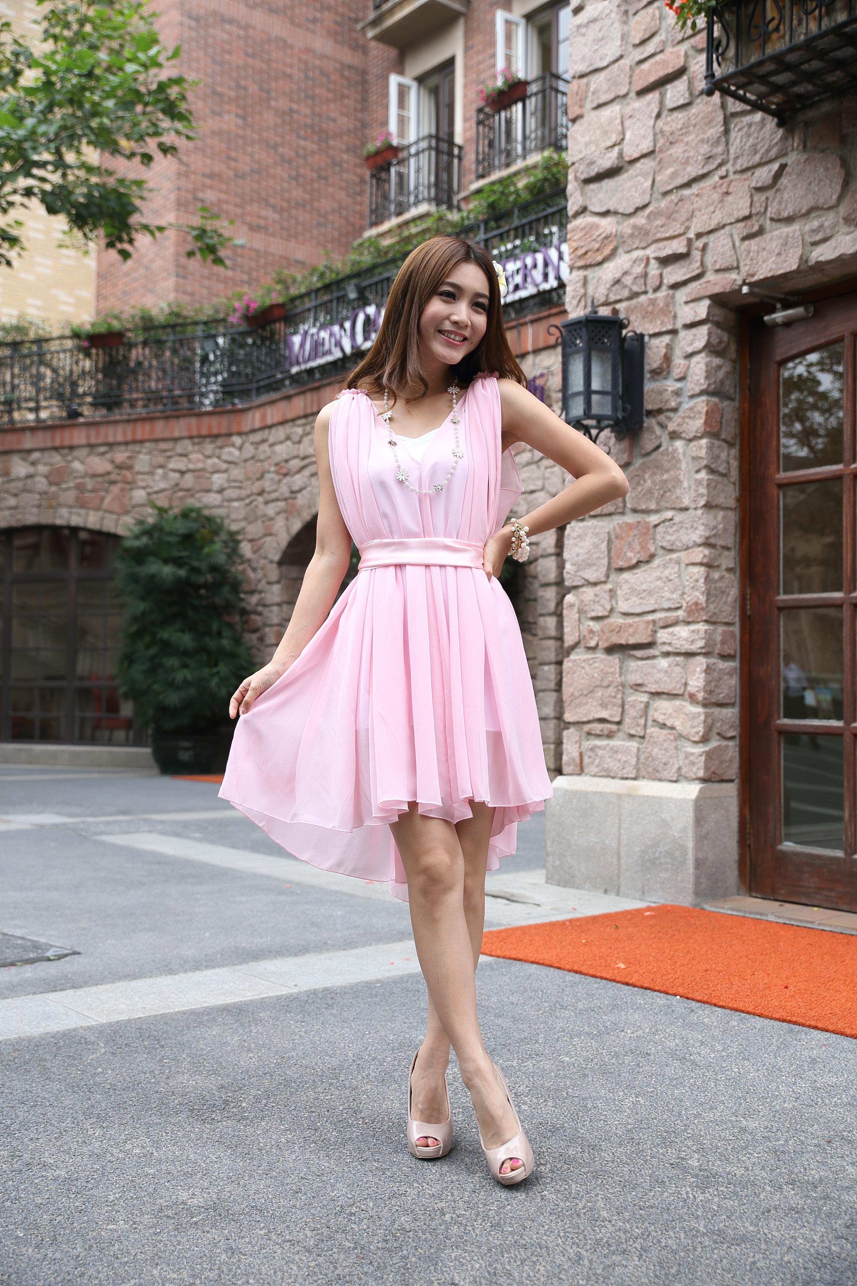 Fotos gratis : mujer, pierna, patrón, modelo, joven, primavera, Asia ...