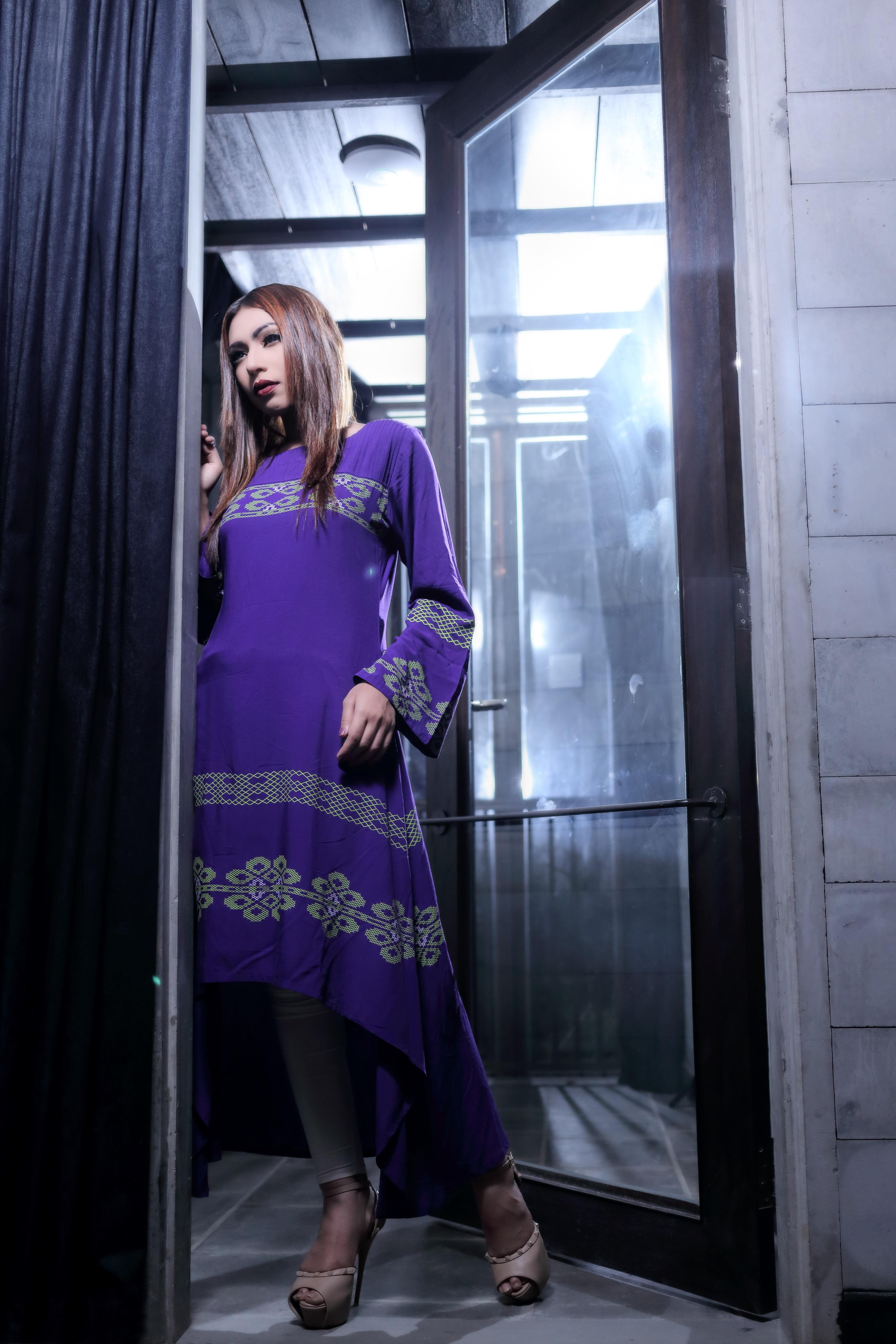 Fotos gratis : mujer, modelo, primavera, color, Moda, azul, ropa ...