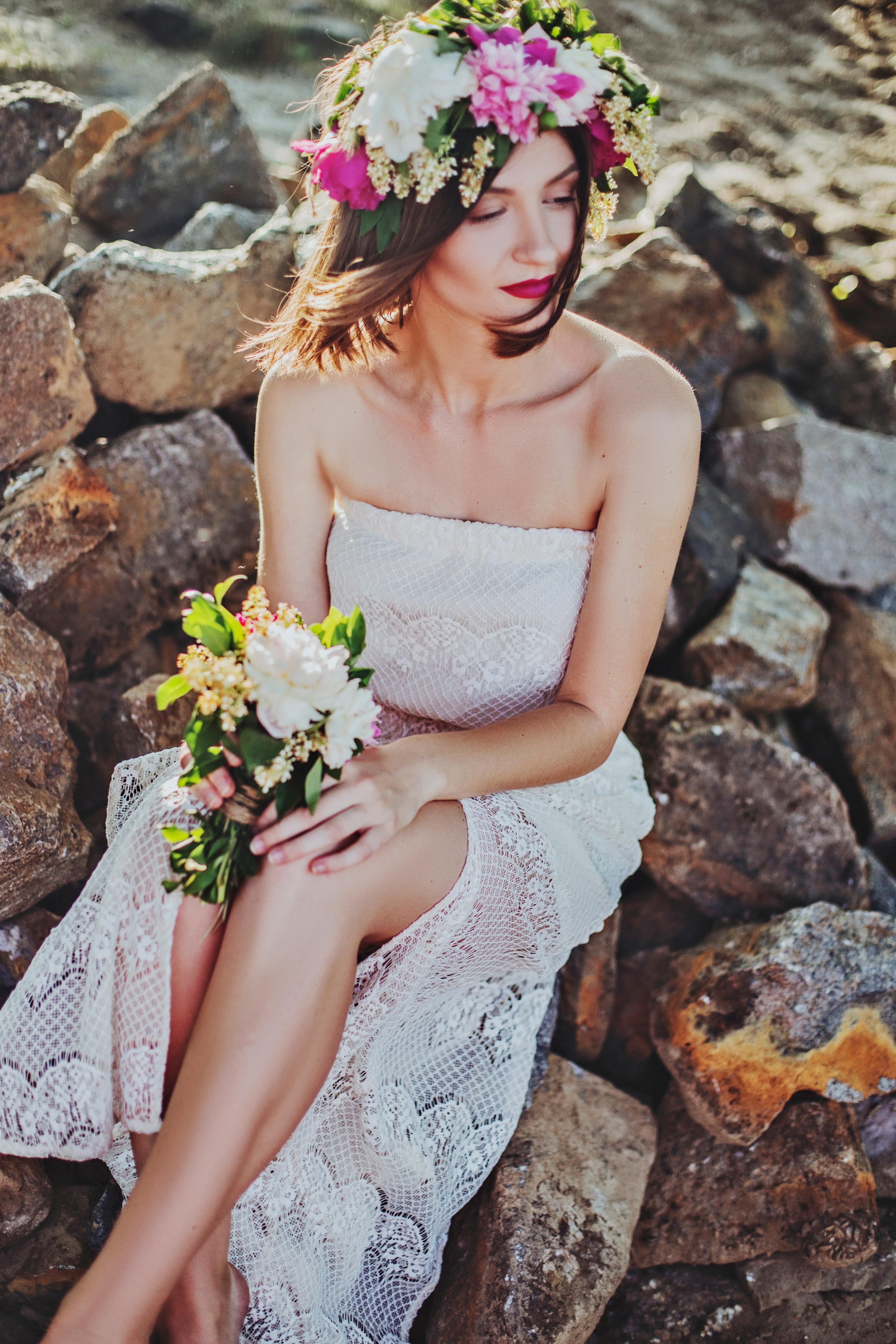 Kostenlose foto : Frau, Fotografie, Blume, Strauß, Frühling, Mode ...