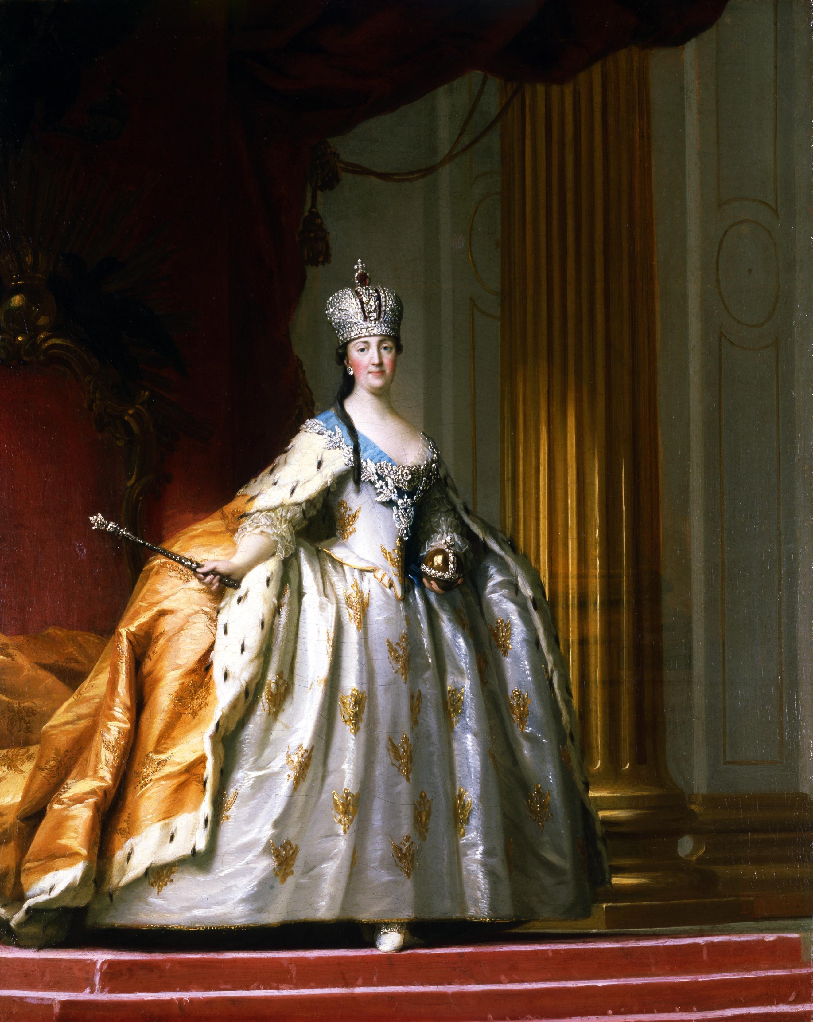 11d7e088 kvinne portrett kunstnerisk mote klær dame maleri Kunst kjole berømt  keiserinne historisk Russland drakt kjole scenekunst
