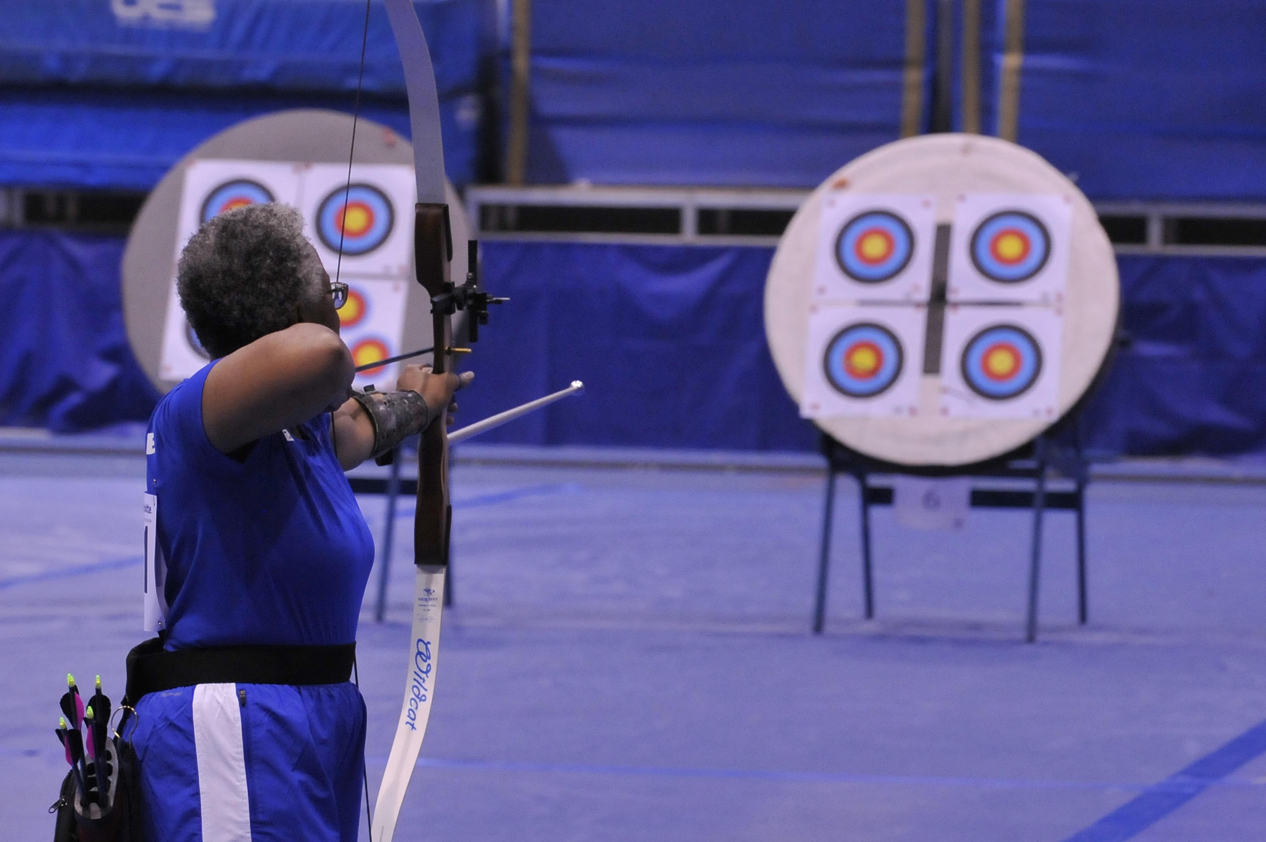 Gambar Wanita Olahraga Biru Ketrampilan Tujuan Kompetisi