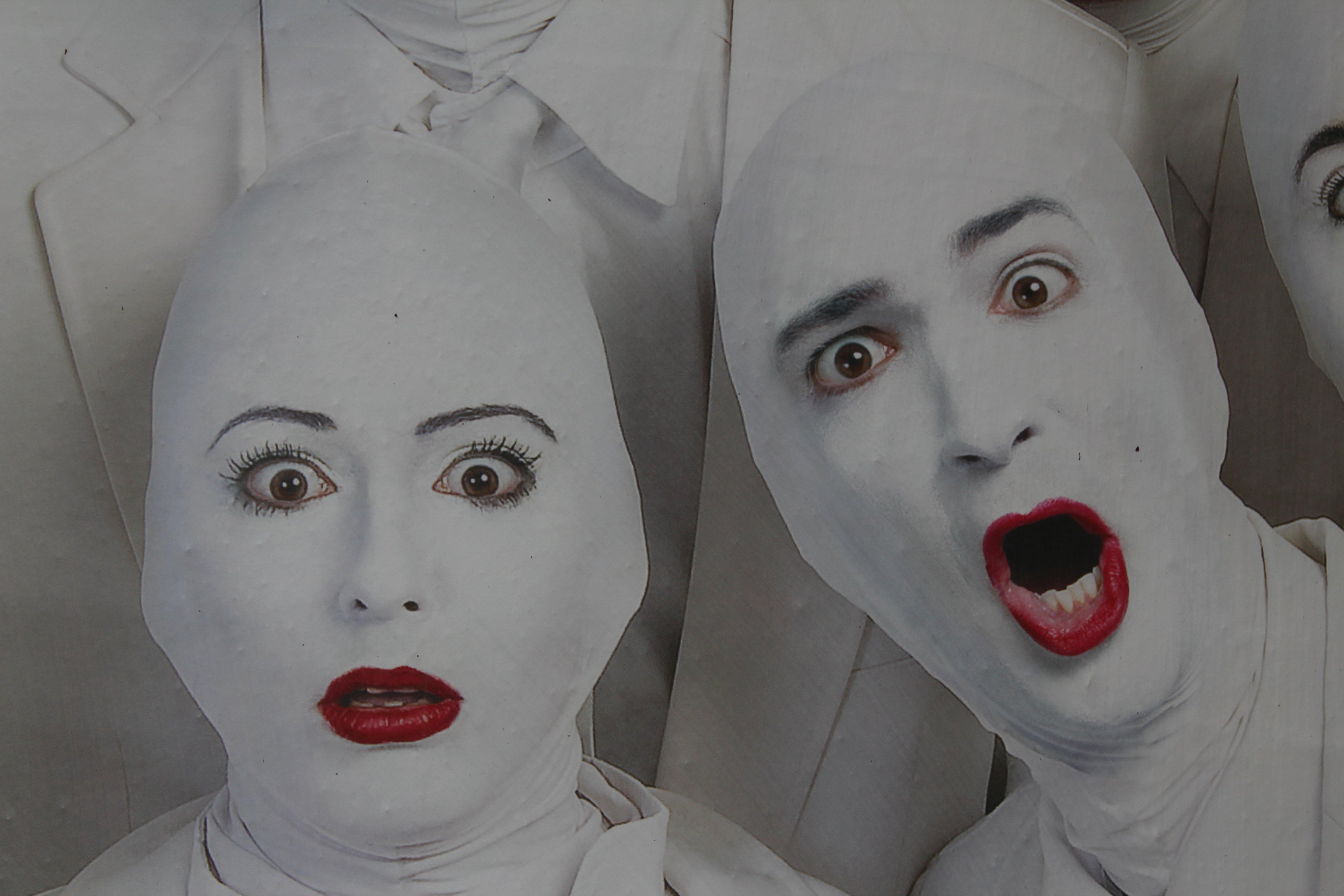 Images Gratuites Femme Blanc Rouge Couleur Vetements Visage