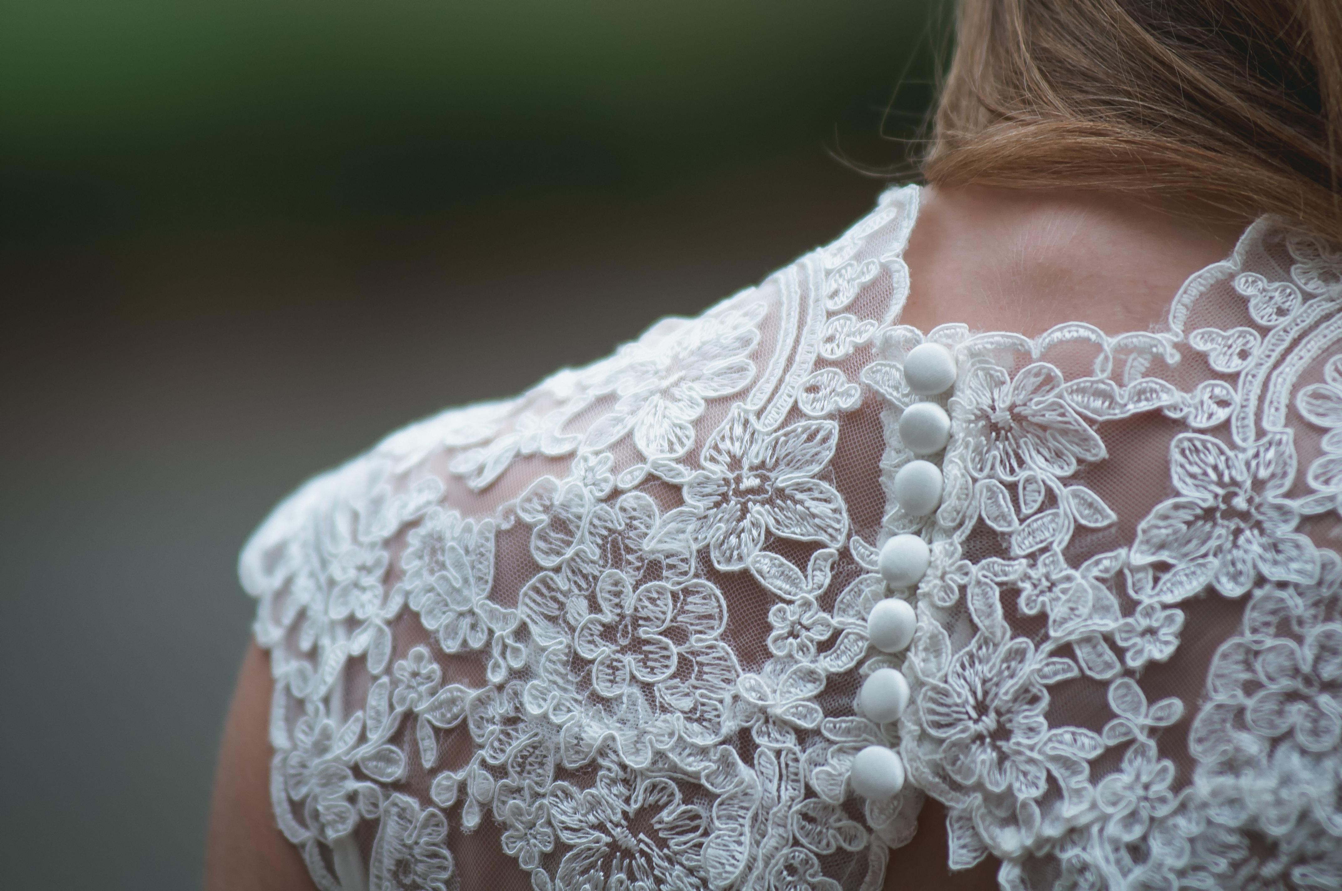 0d885daee9 nő fehér szüret női csipke romantikus divat ruházat esküvő Esküvői ruha  menyasszony váll anyag textil ruha