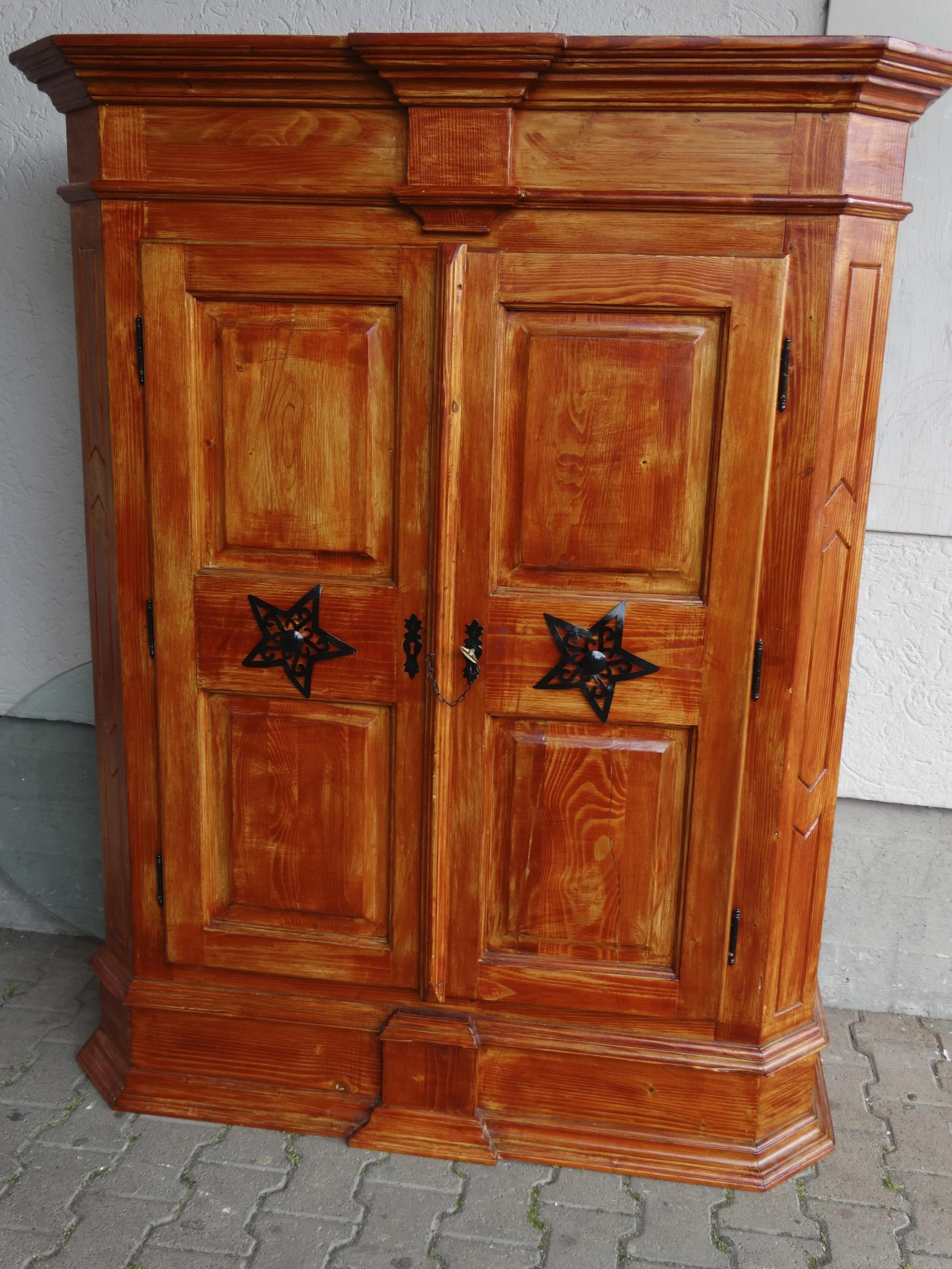Wood antique live red brown craft black furniture chest hardwood decorative wardrobe restored cupboard sideboard setup