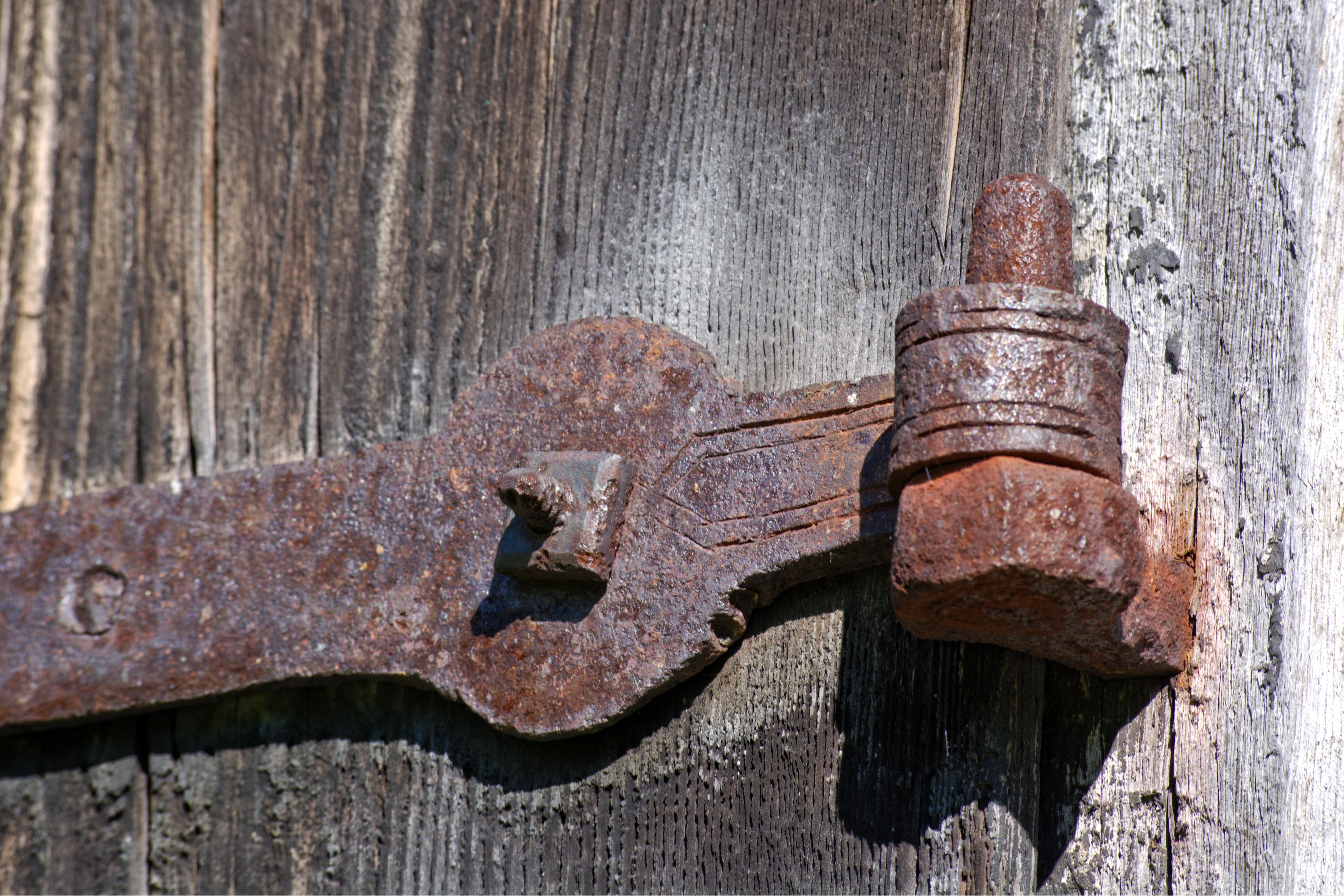 Images gratuites bois antique mur rouille m tal for Peindre du fer rouille