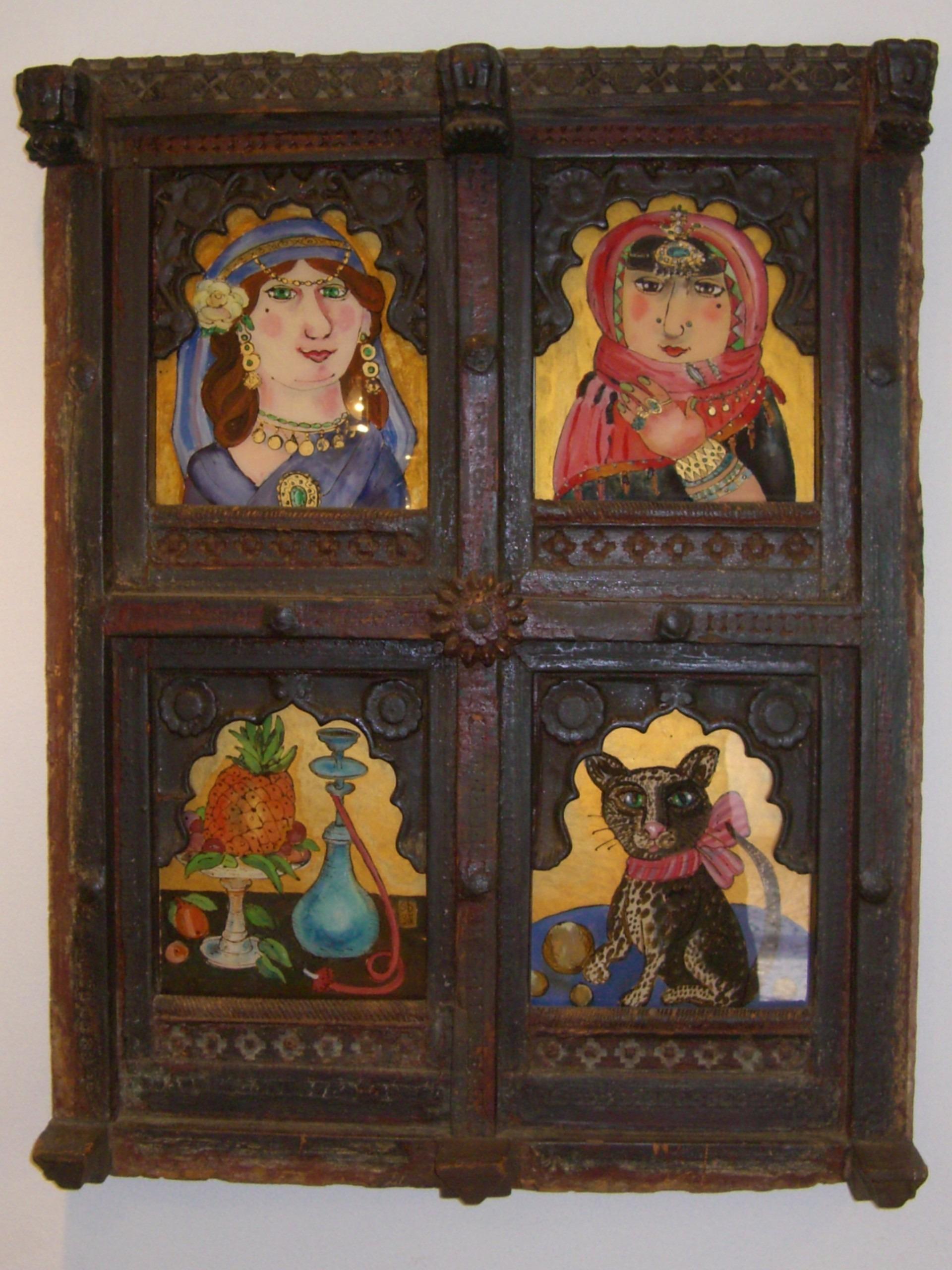 Fotos gratis : madera, antiguo, ventana, marco, mueble, vistoso ...