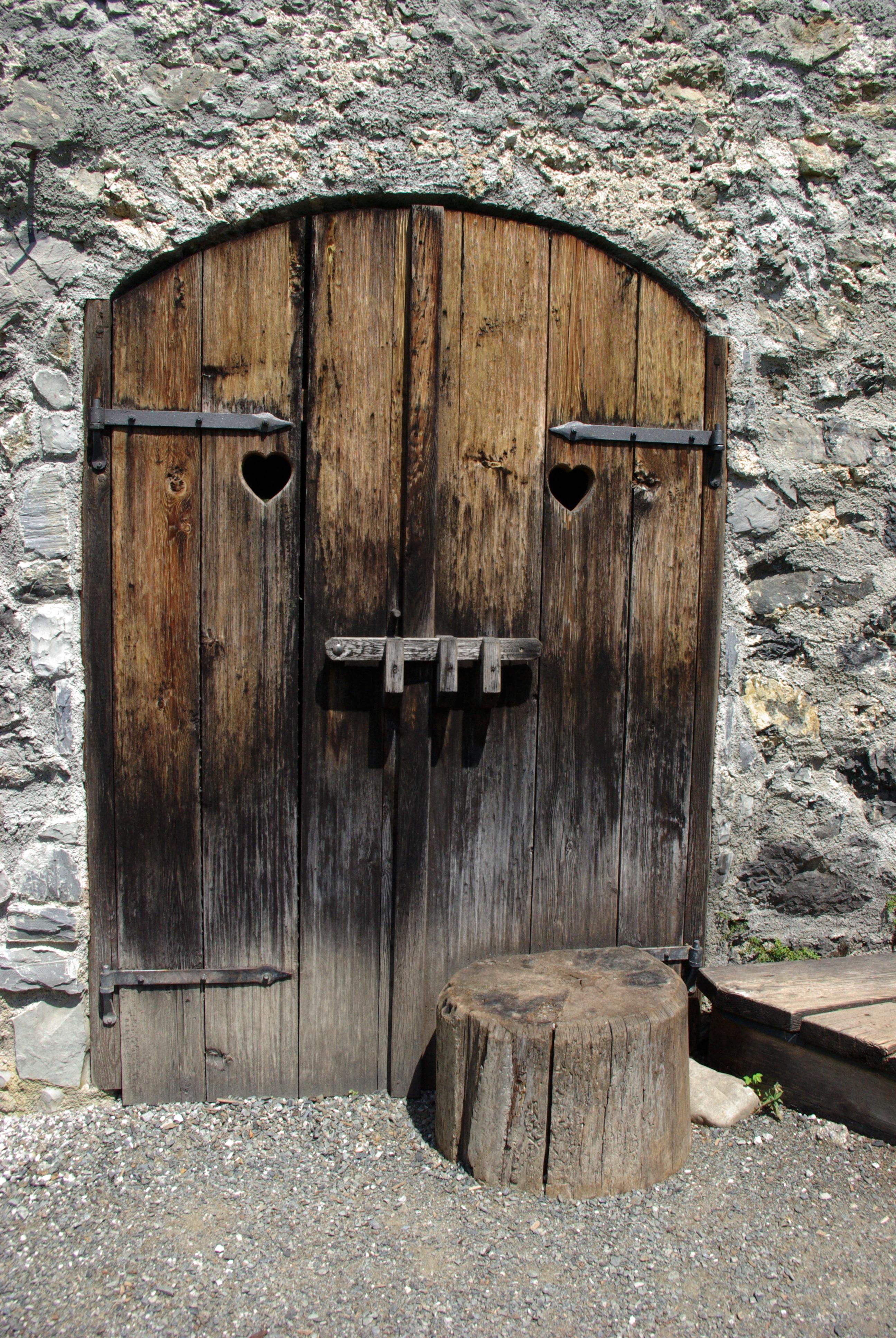 Fotos gratis : madera, edificio, antiguo, granero, pared, piedra ...
