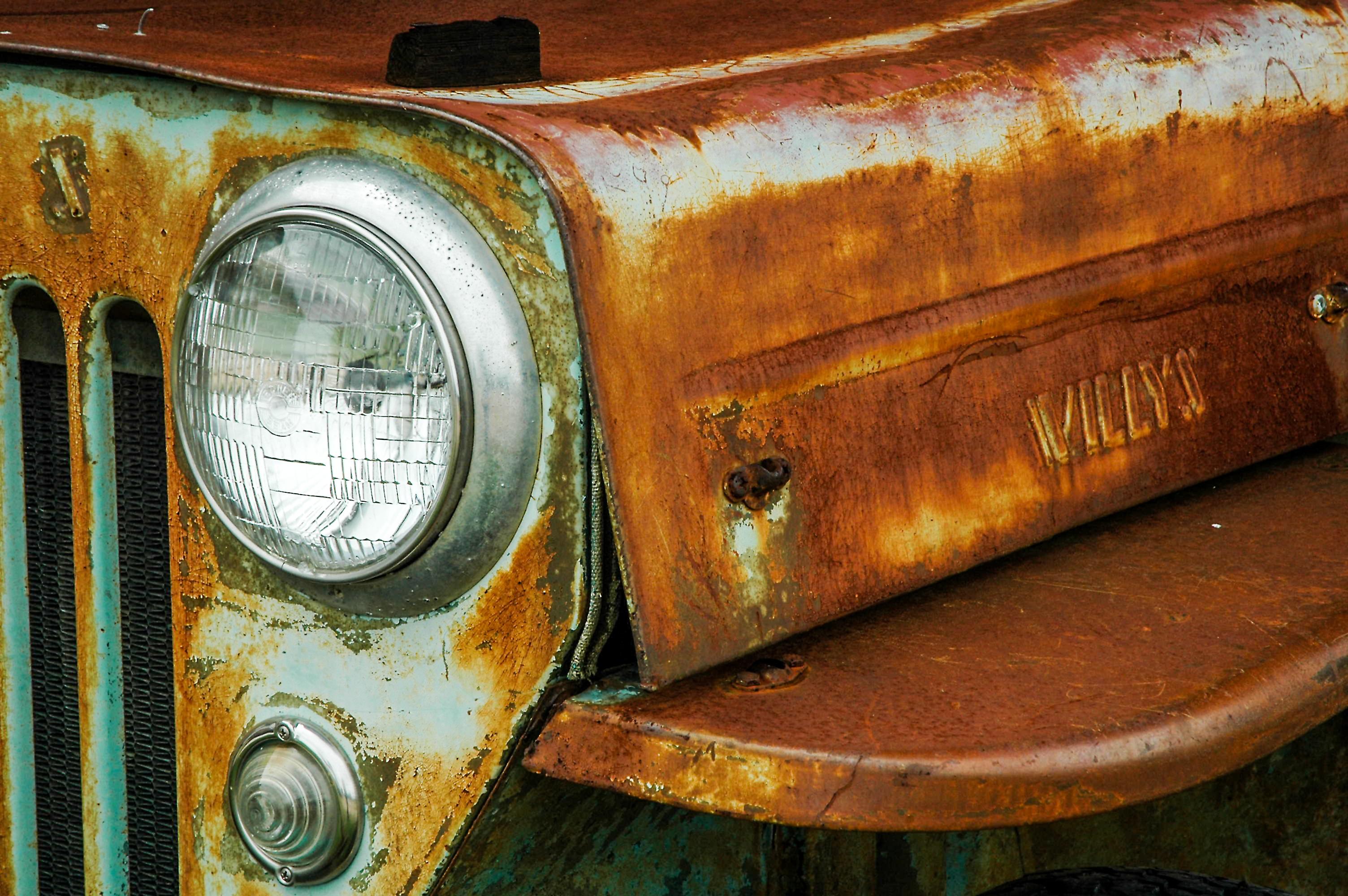Fotoğraf Ahşap Araba Bağbozumu Antik Otomobil Retro Eski
