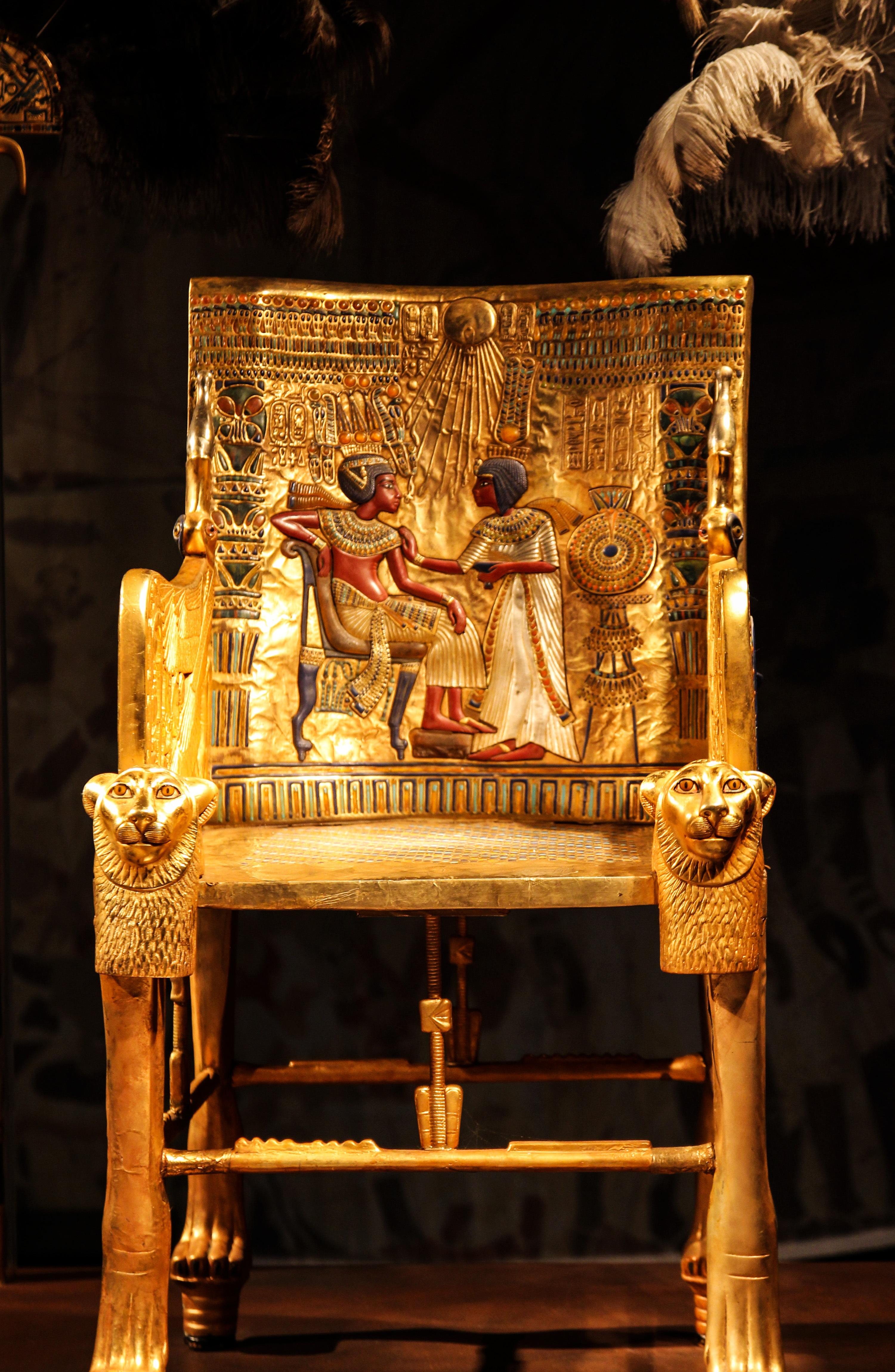 Fotos Gratis Madera Silla Dorado Mueble Egipto Teatro Art  # Muebles Dorados