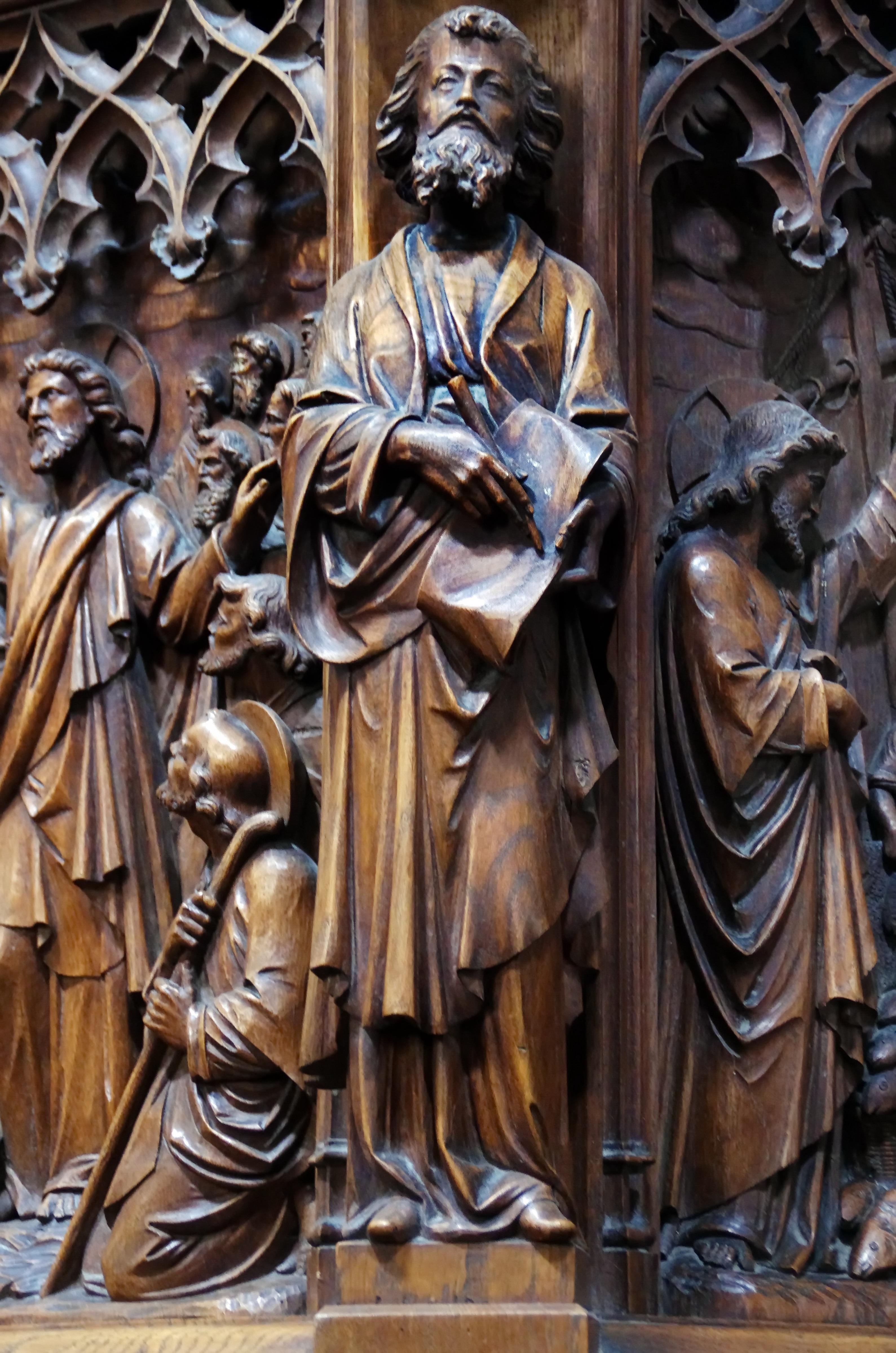 sculpture bois histoire