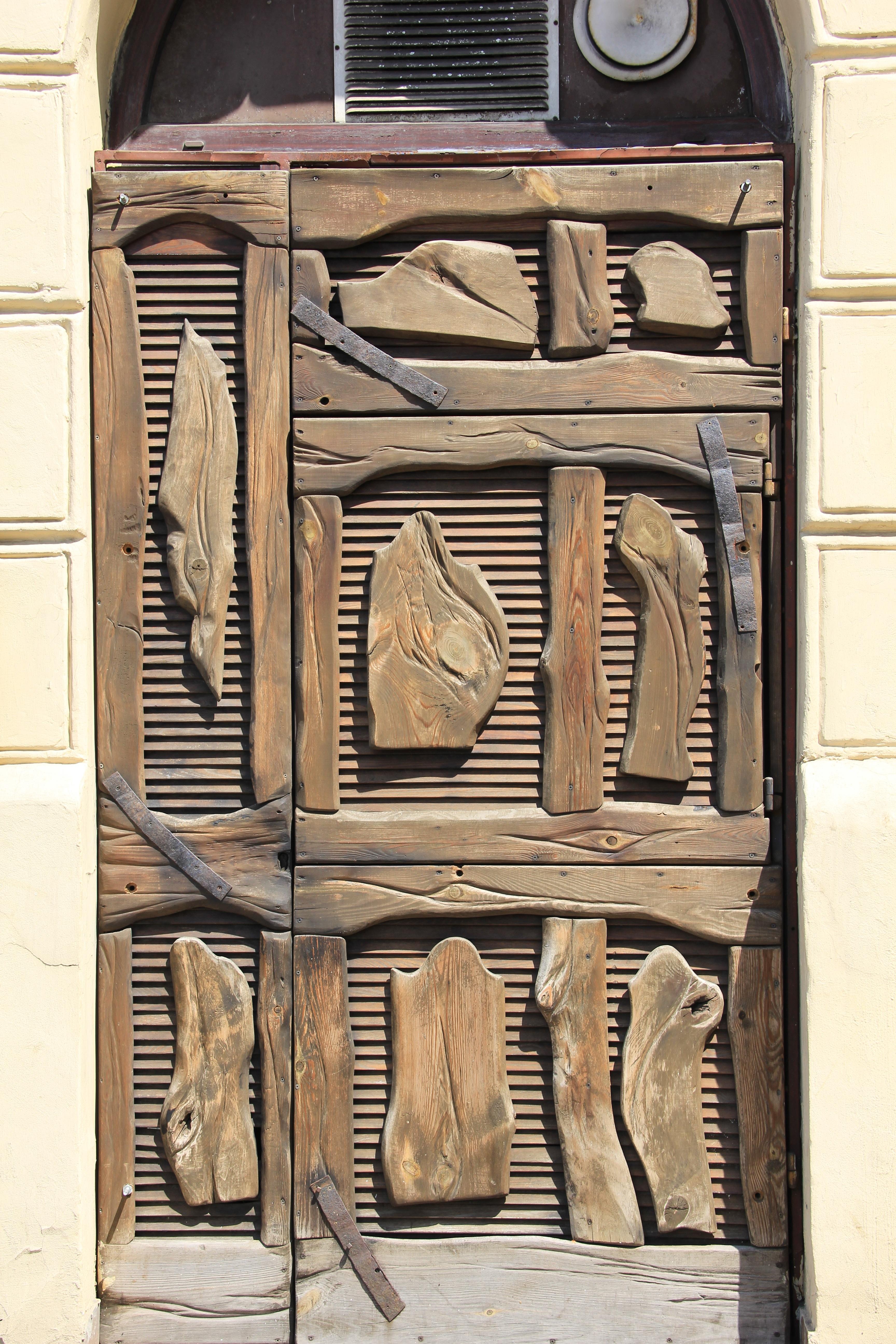 Images Gratuites Entr E Meubles Le Fer Sculpture Portes  # Meuble La Porte
