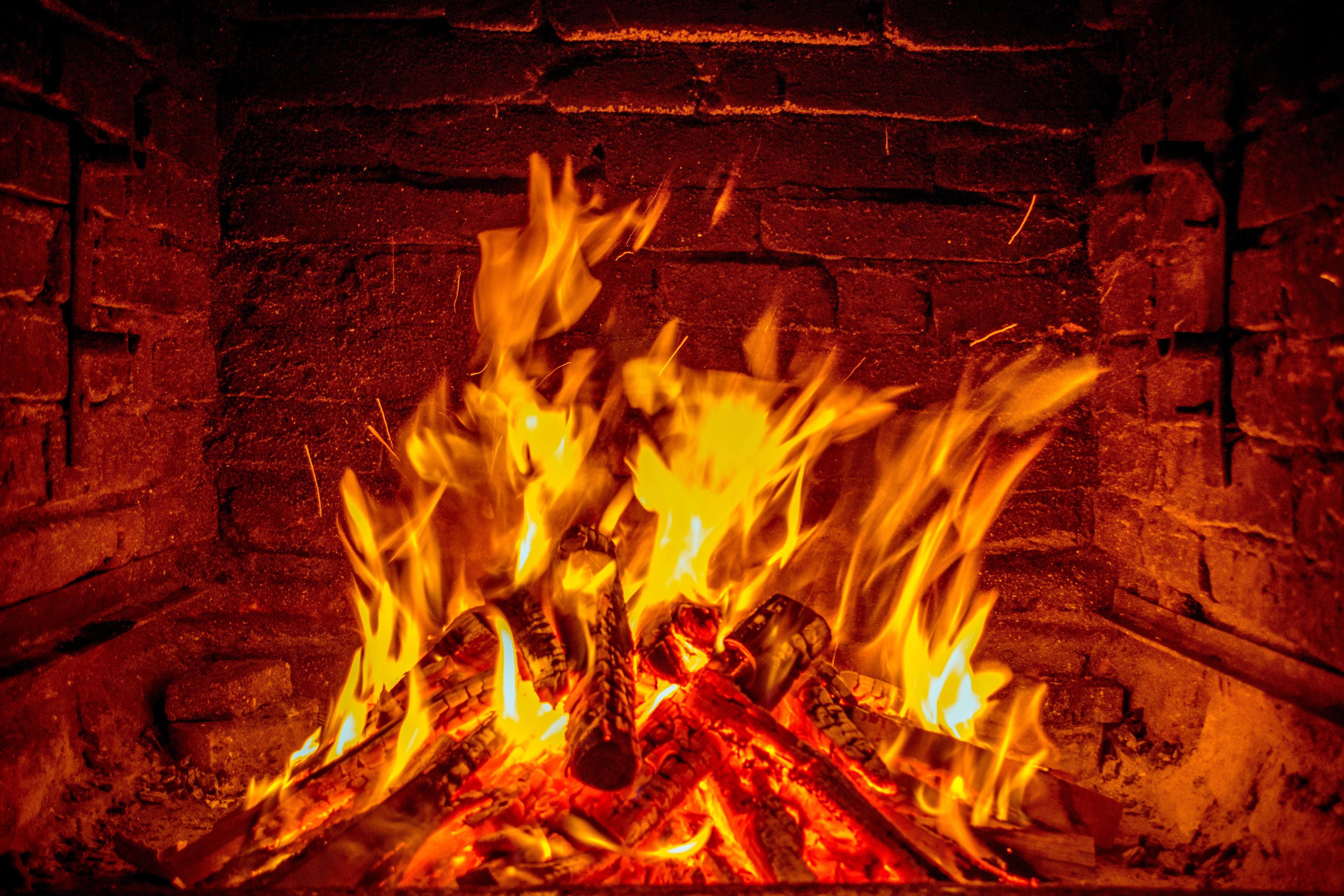 Картинка горящего огня