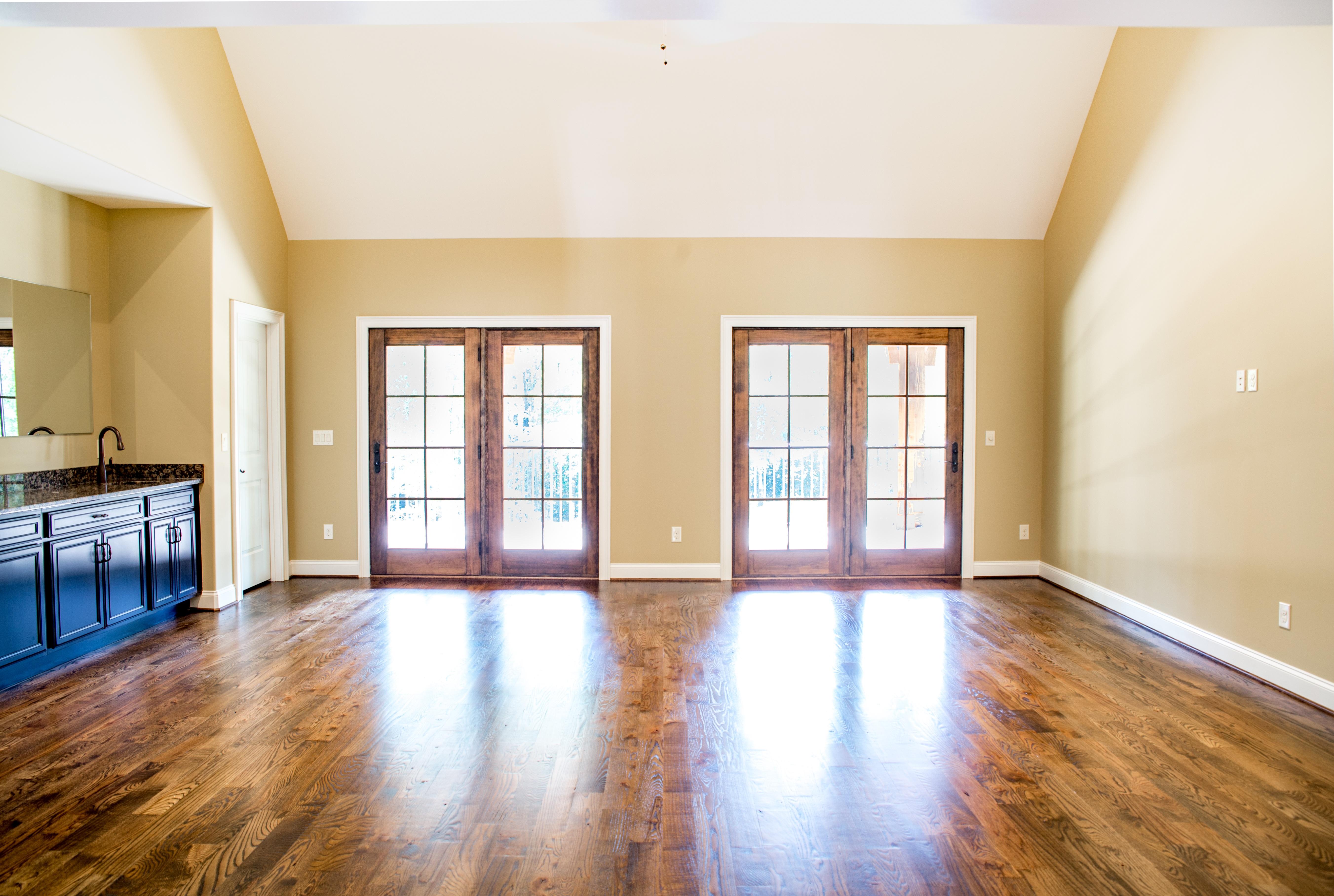 madera piso casa propiedad sala residencial habitacin diseo de interiores lujo madera dura inmuebles recortar bienes