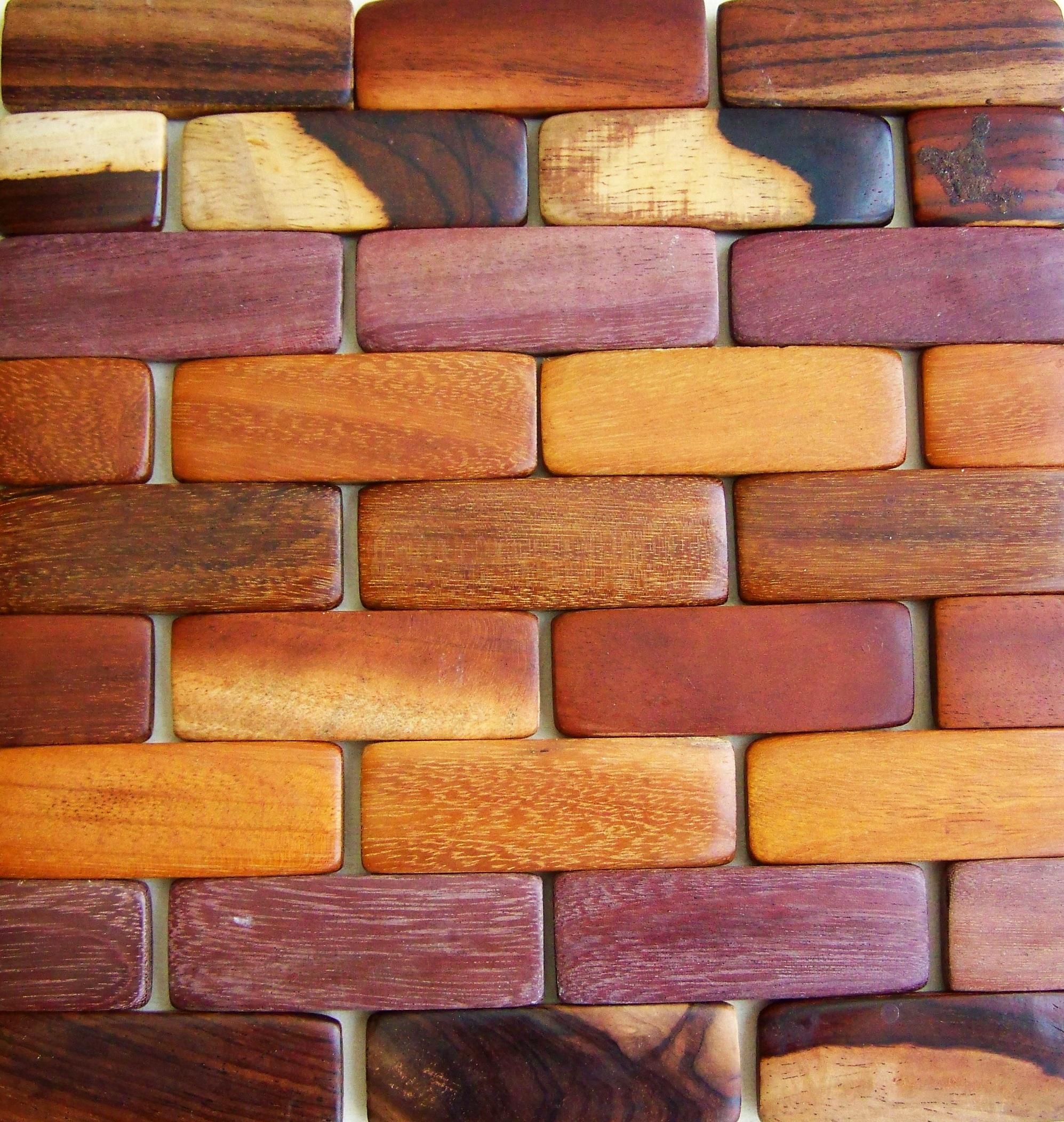 Как сделать деревянный как на стену из кирпича