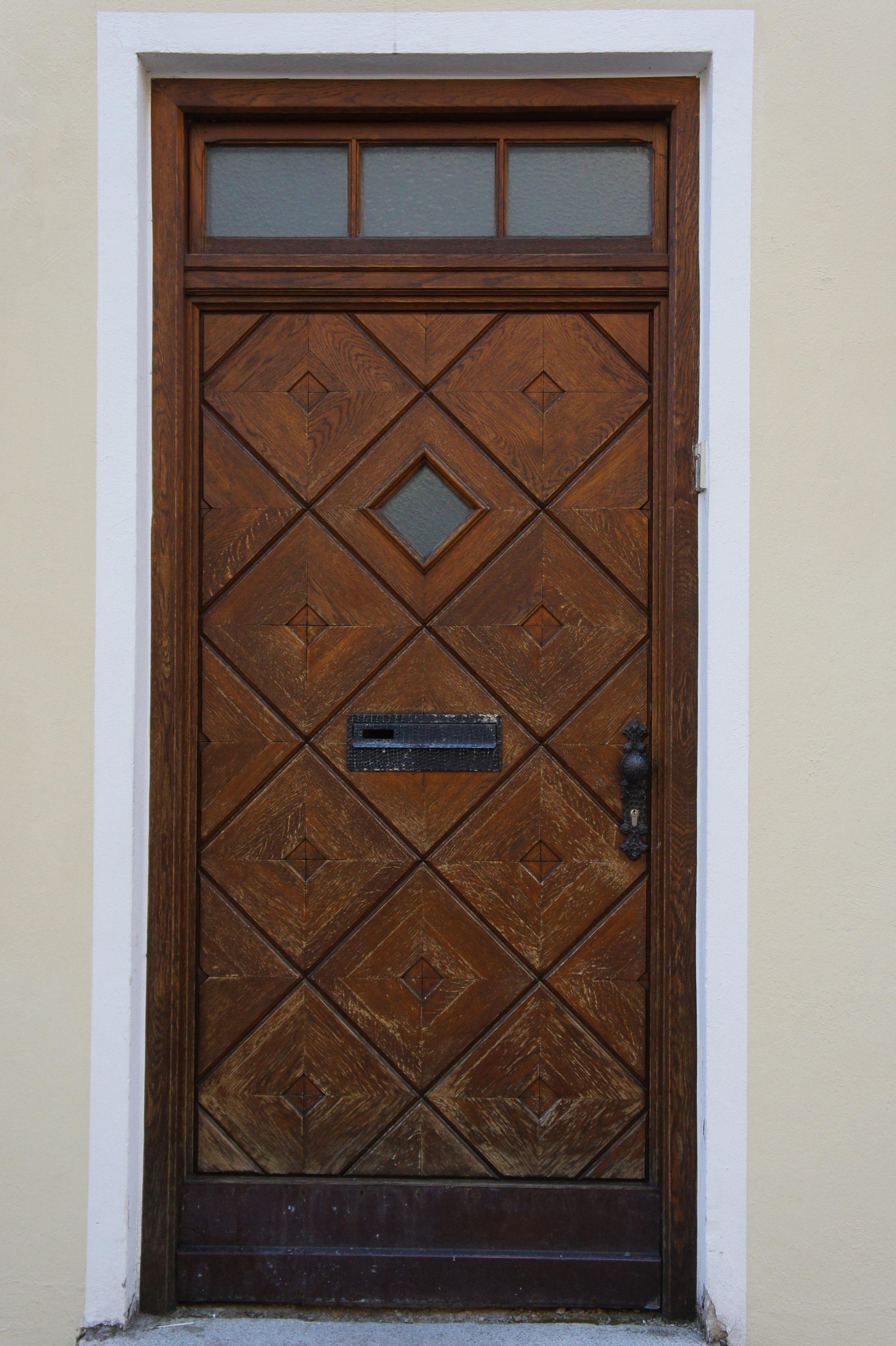Wood Floor Window Arch Pattern Door Front Wooden Hardwood Input House Entrance Sash