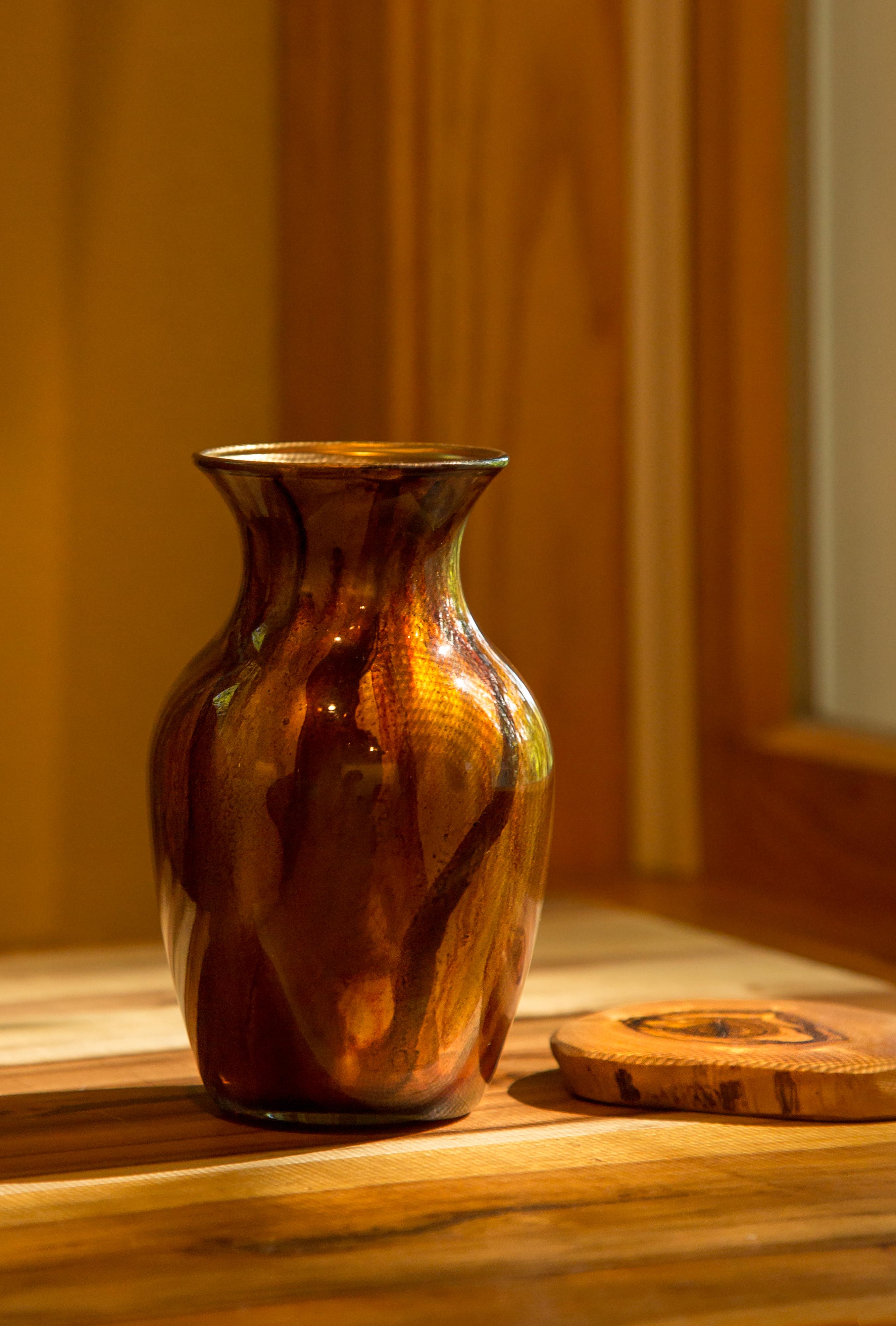 Gratis Afbeeldingen Hout Glas Huis Vaas Oranje