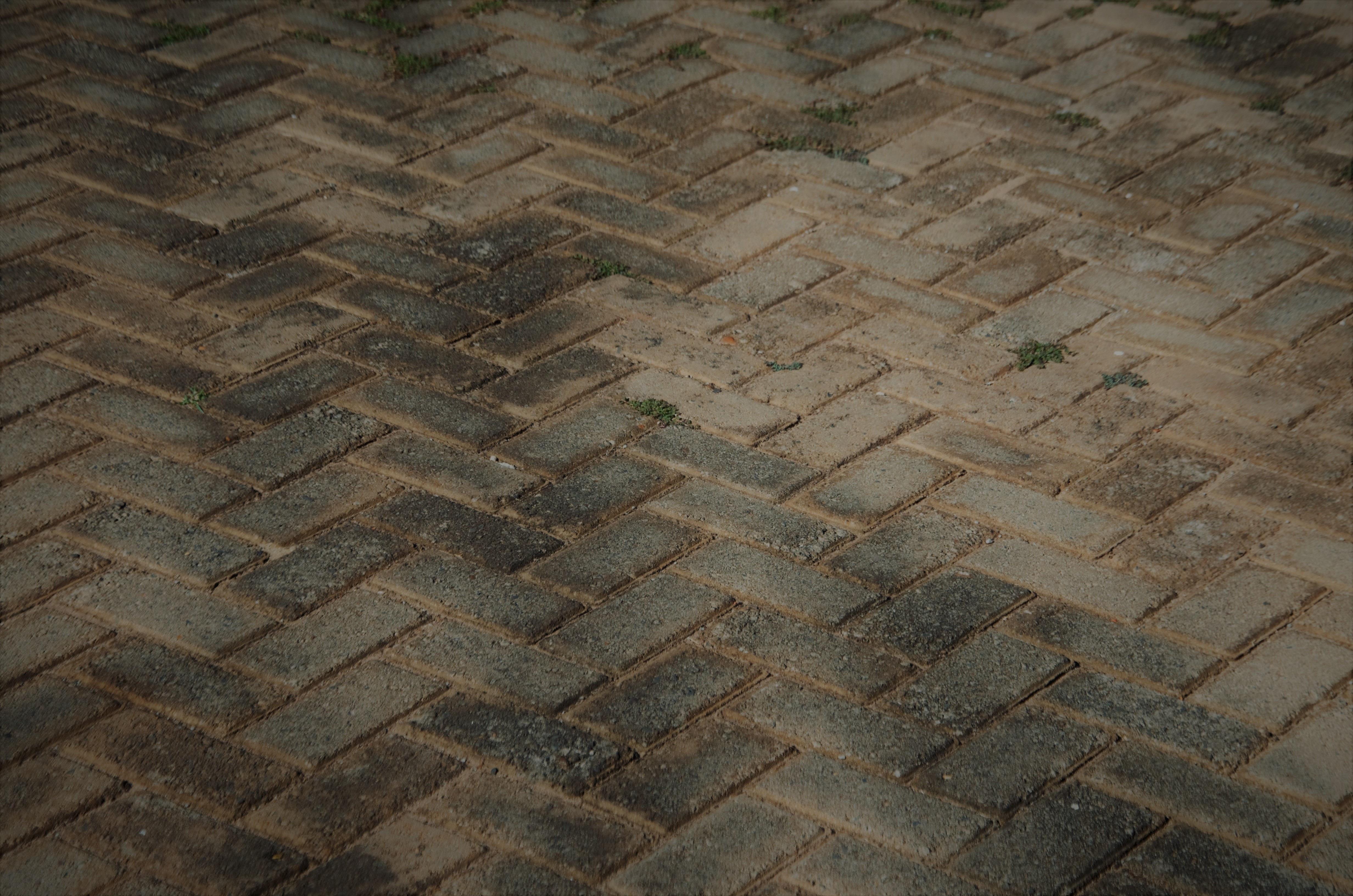 Sidewalk Floor Cobblestone Wall