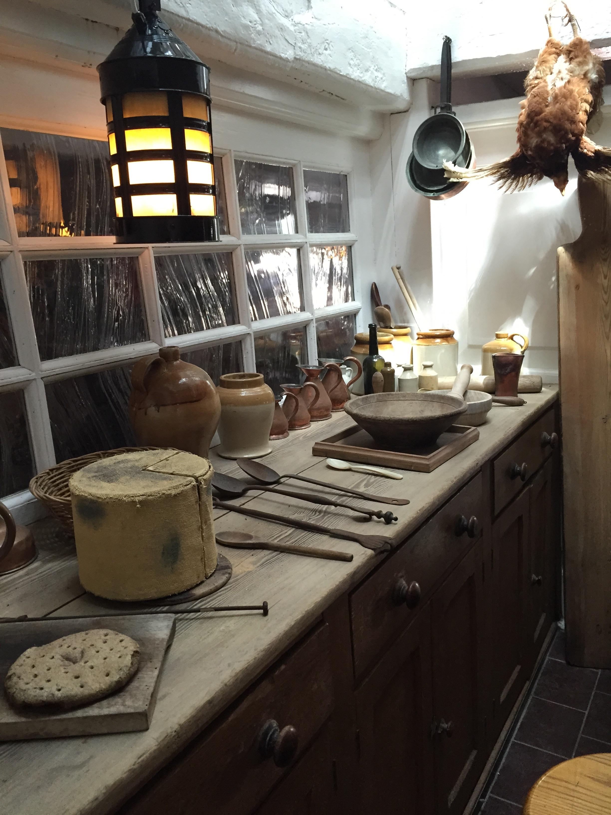 Fotos gratis madera casa caba a cocina propiedad for Iluminacion encimera