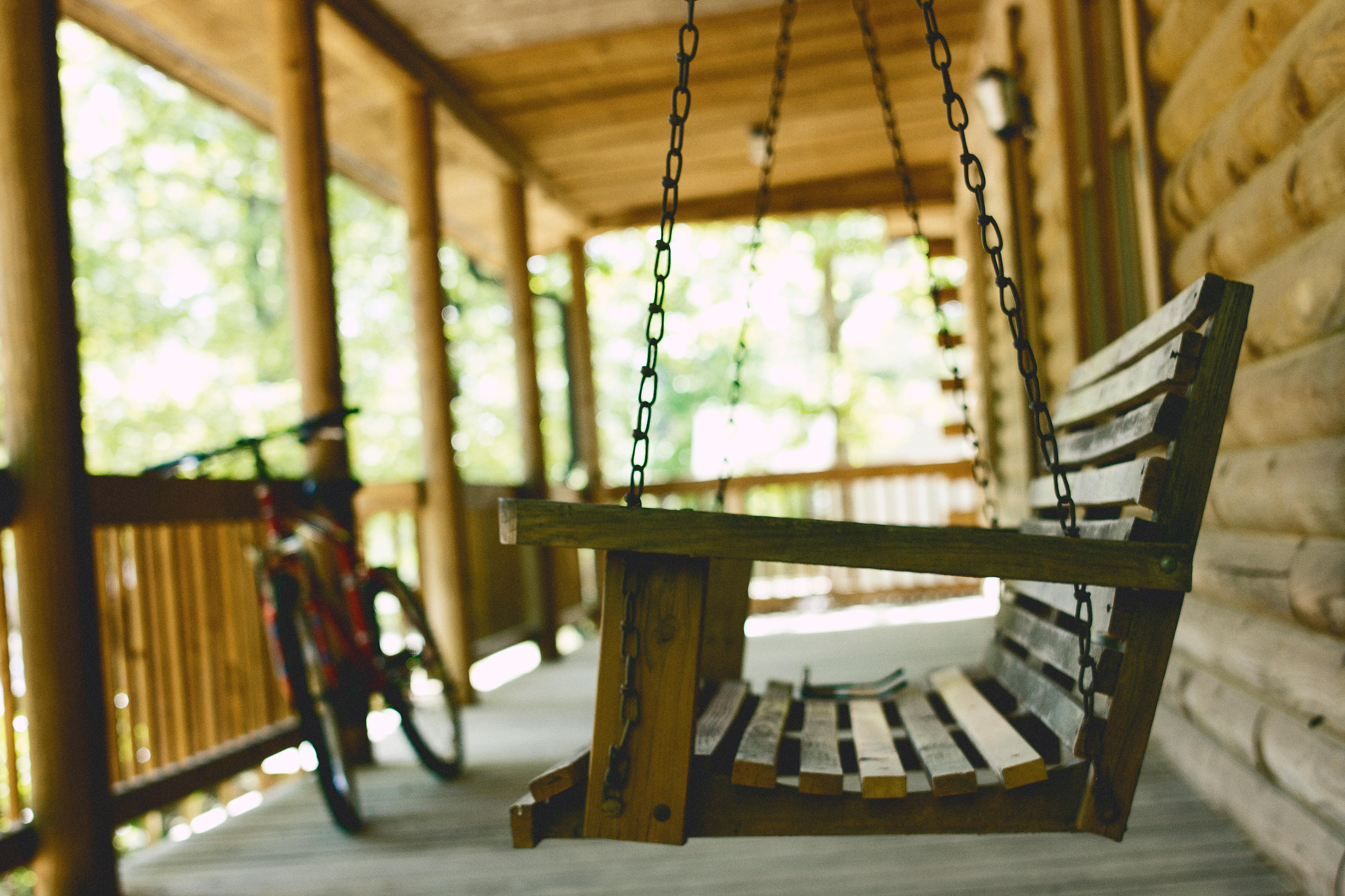 Schommel In Huis : Gratis afbeeldingen hout huis venster fiets huis veranda