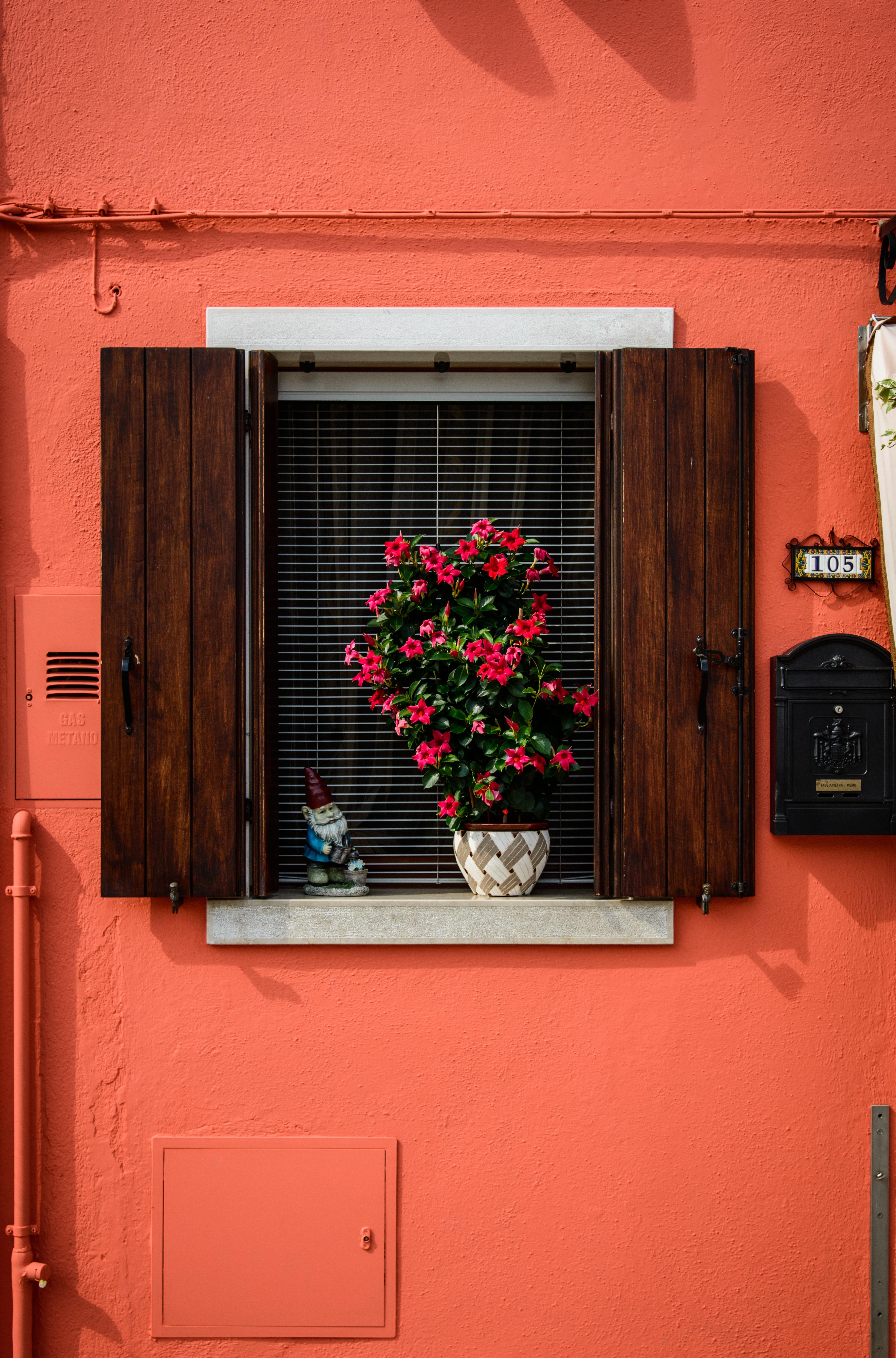 Kostenlose Foto Holz Haus Gebaude Zuhause Mauer Rot Farbe