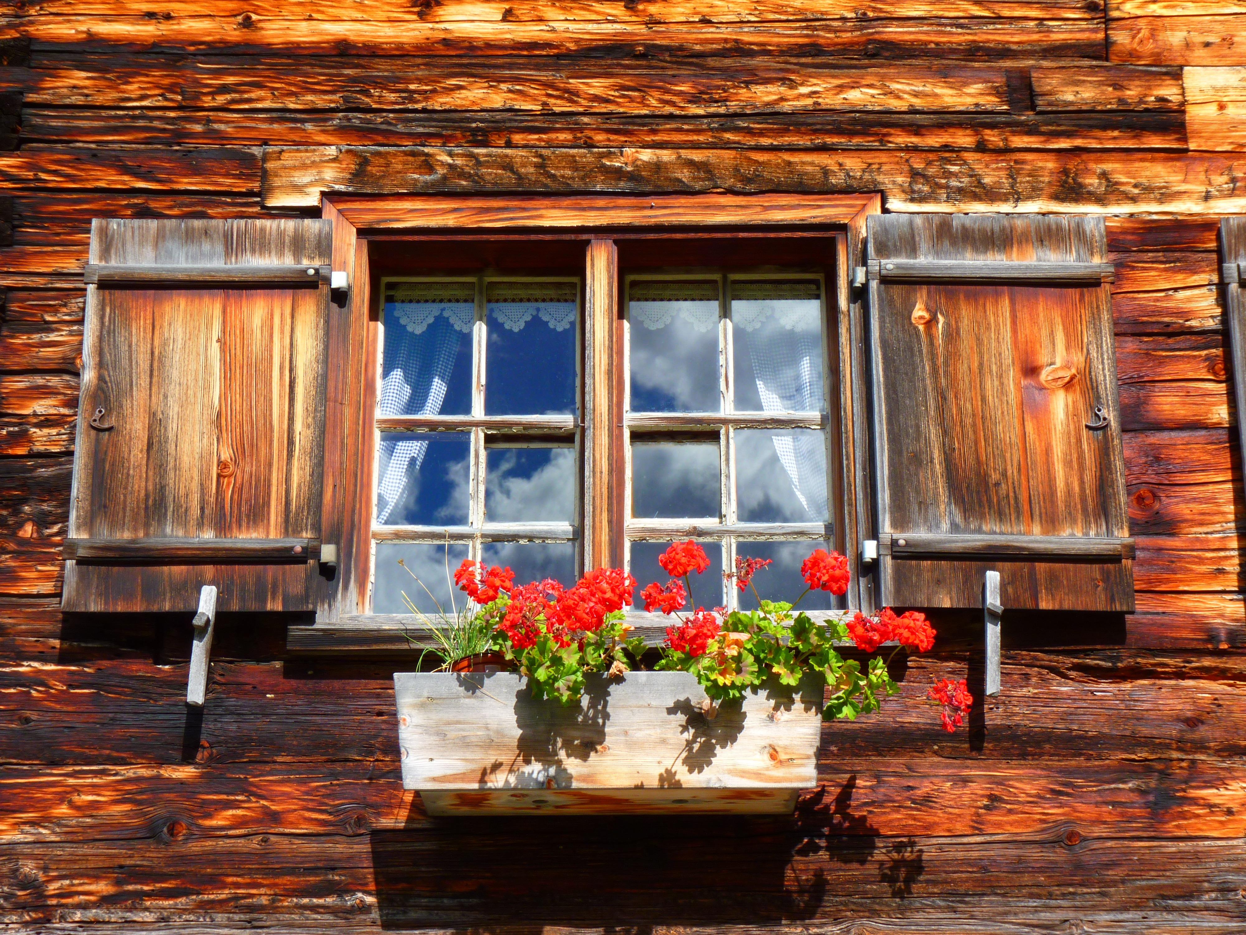 окна в деревенских домах фото правило, открытки