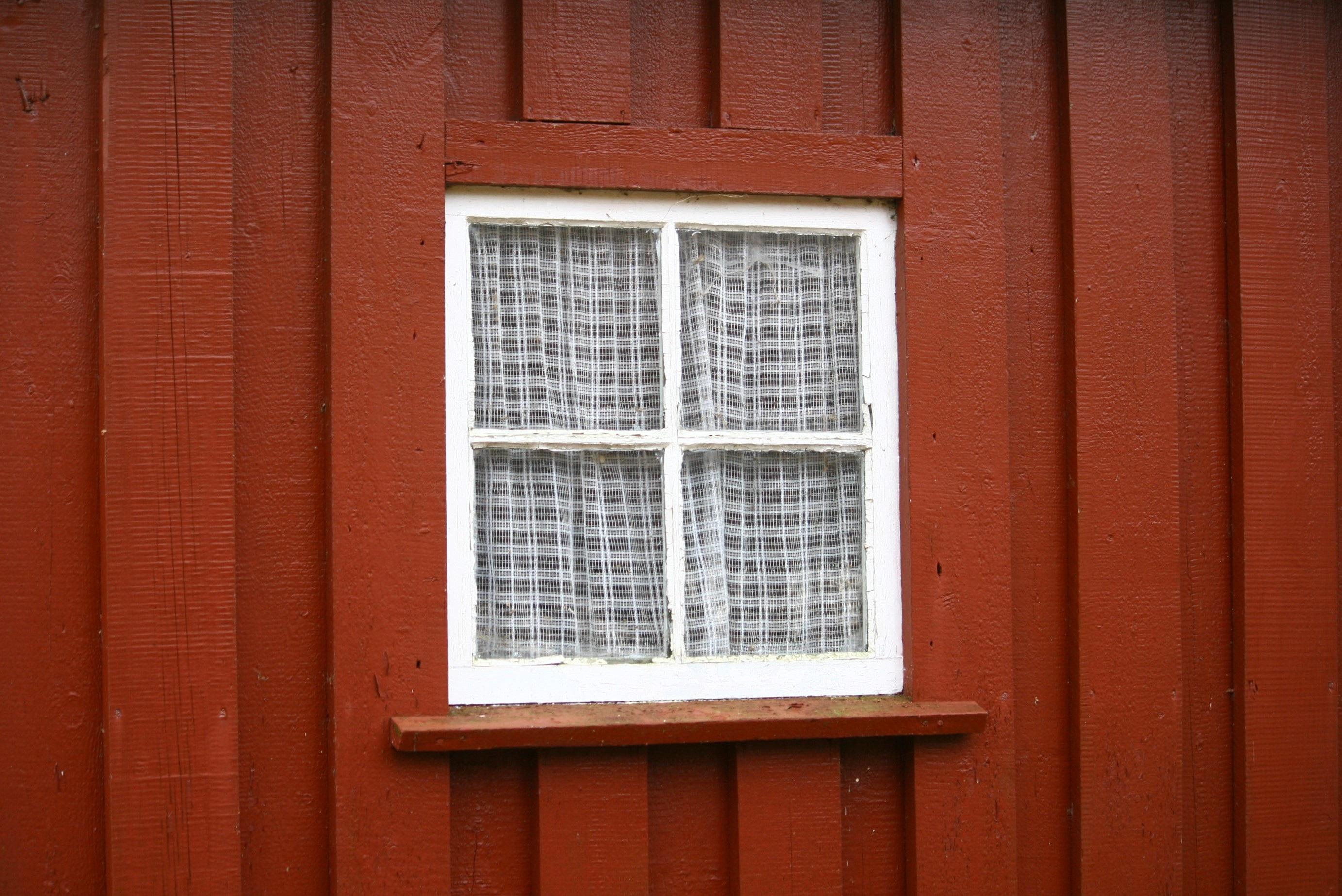 Wood House Window Wall Red Color Facade Brick Lighting Door Wooden Interior Design Old