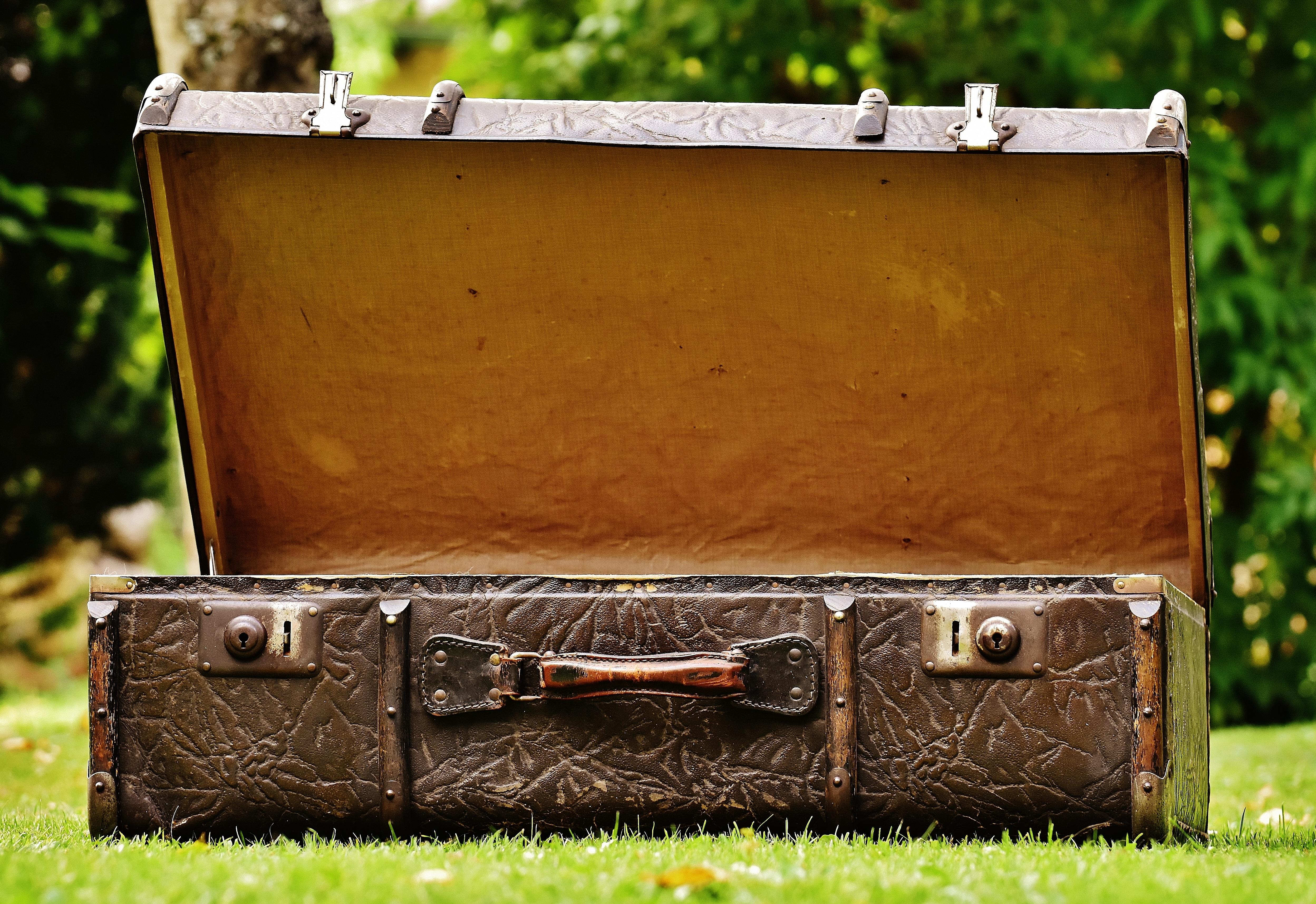 Старые чемоданы картинки